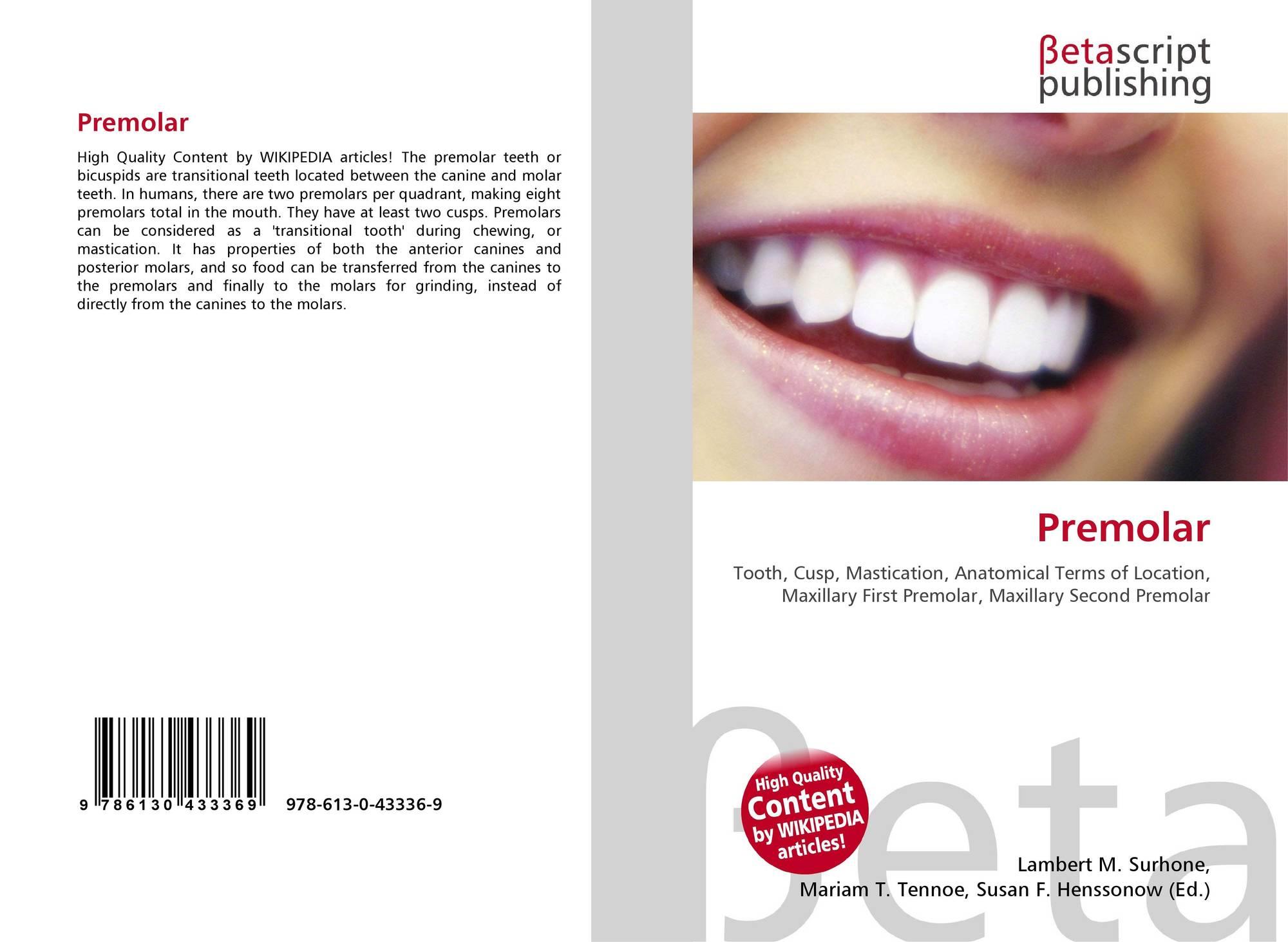 Premolar, 978-613-0-43336-9, 6130433360 ,9786130433369