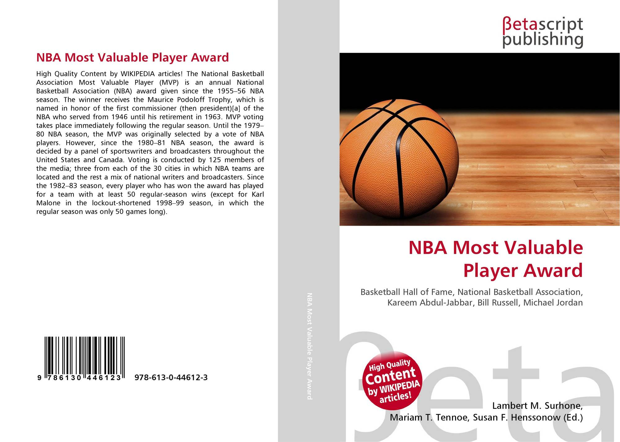 search results for nba most valuable player award