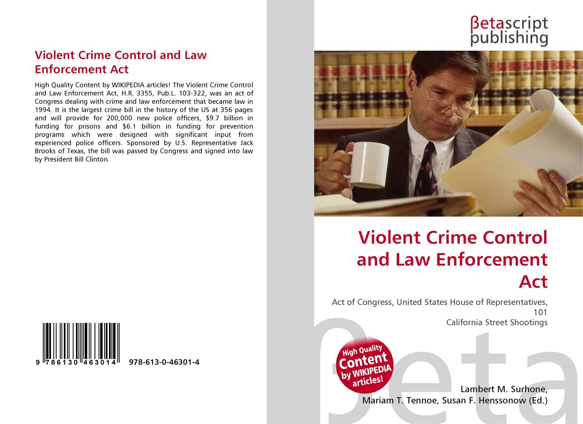 criminal intelligence and violent crime