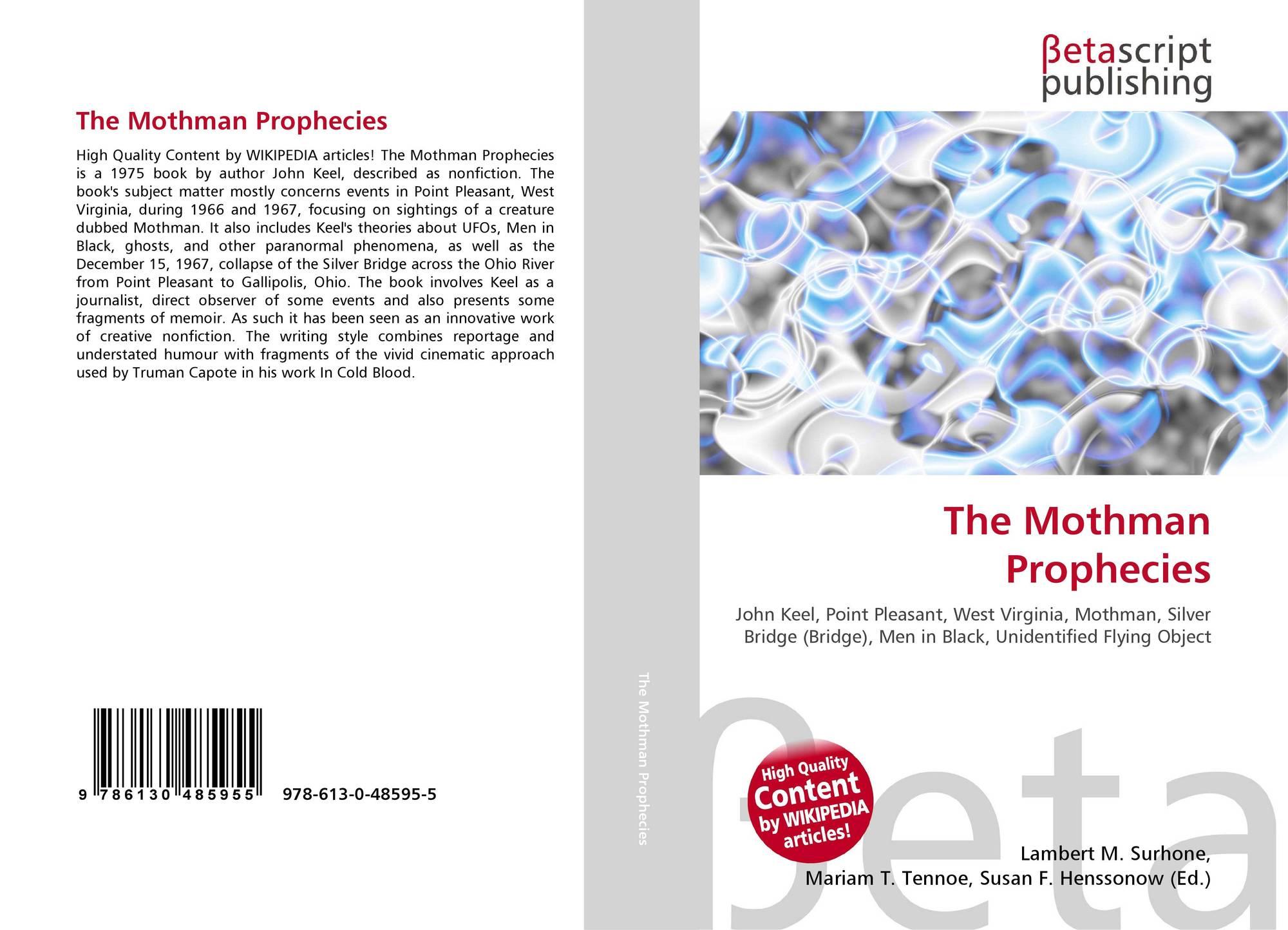 The Mothman Prophecies, 978-613-0-48595-5, 6130485956