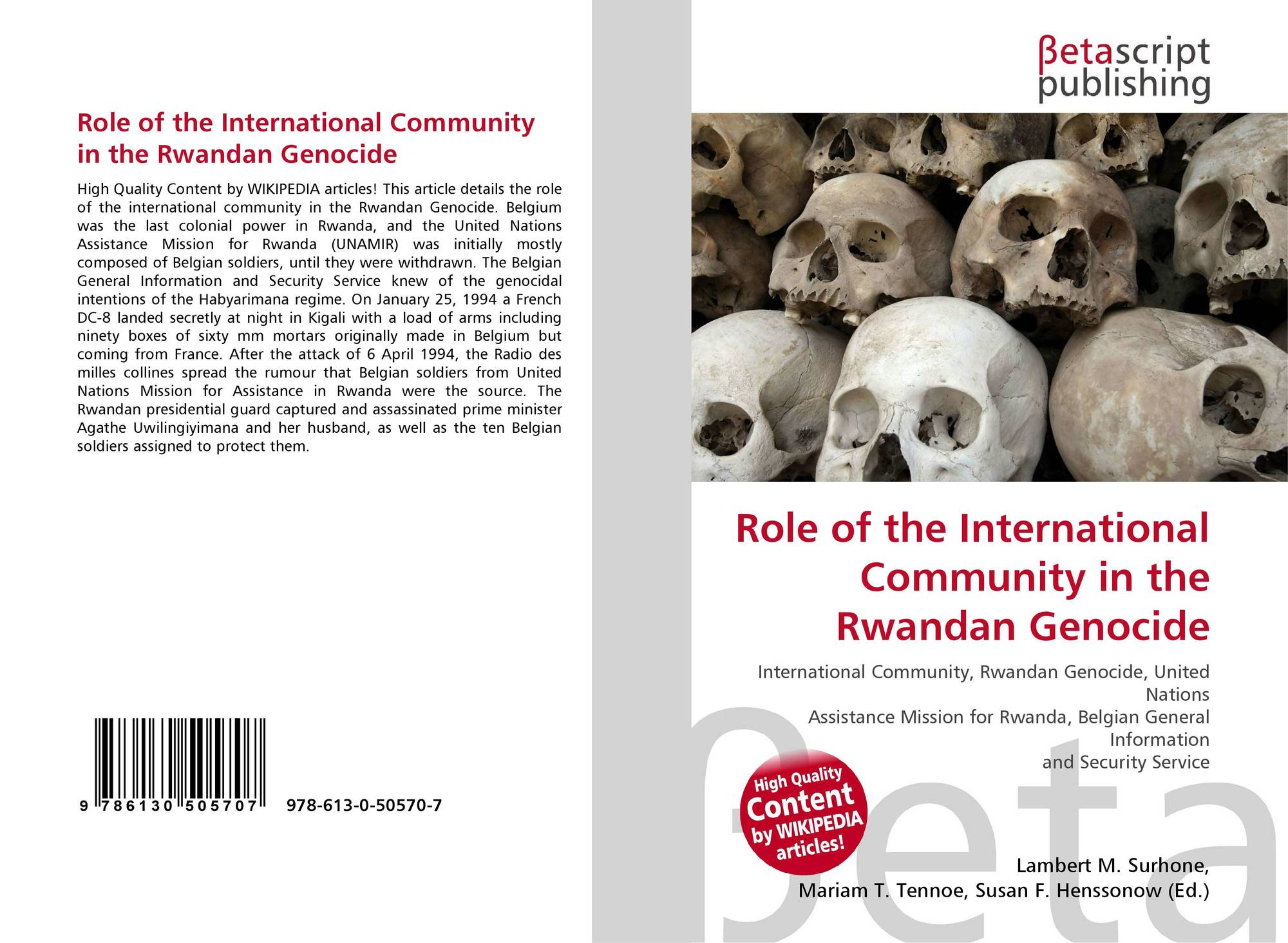 Role of the International Comm...