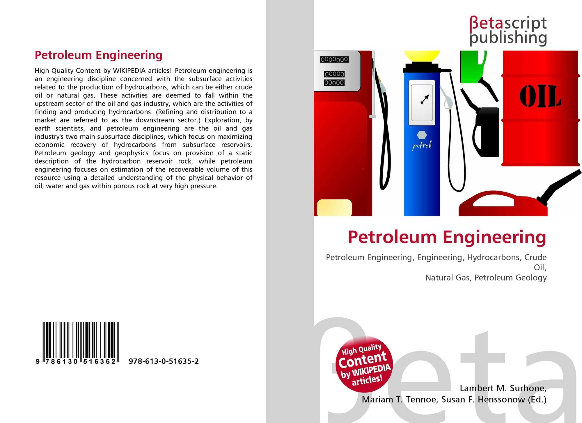 Petroleum Engineering, 978-613-0-51635-2, 6130516355