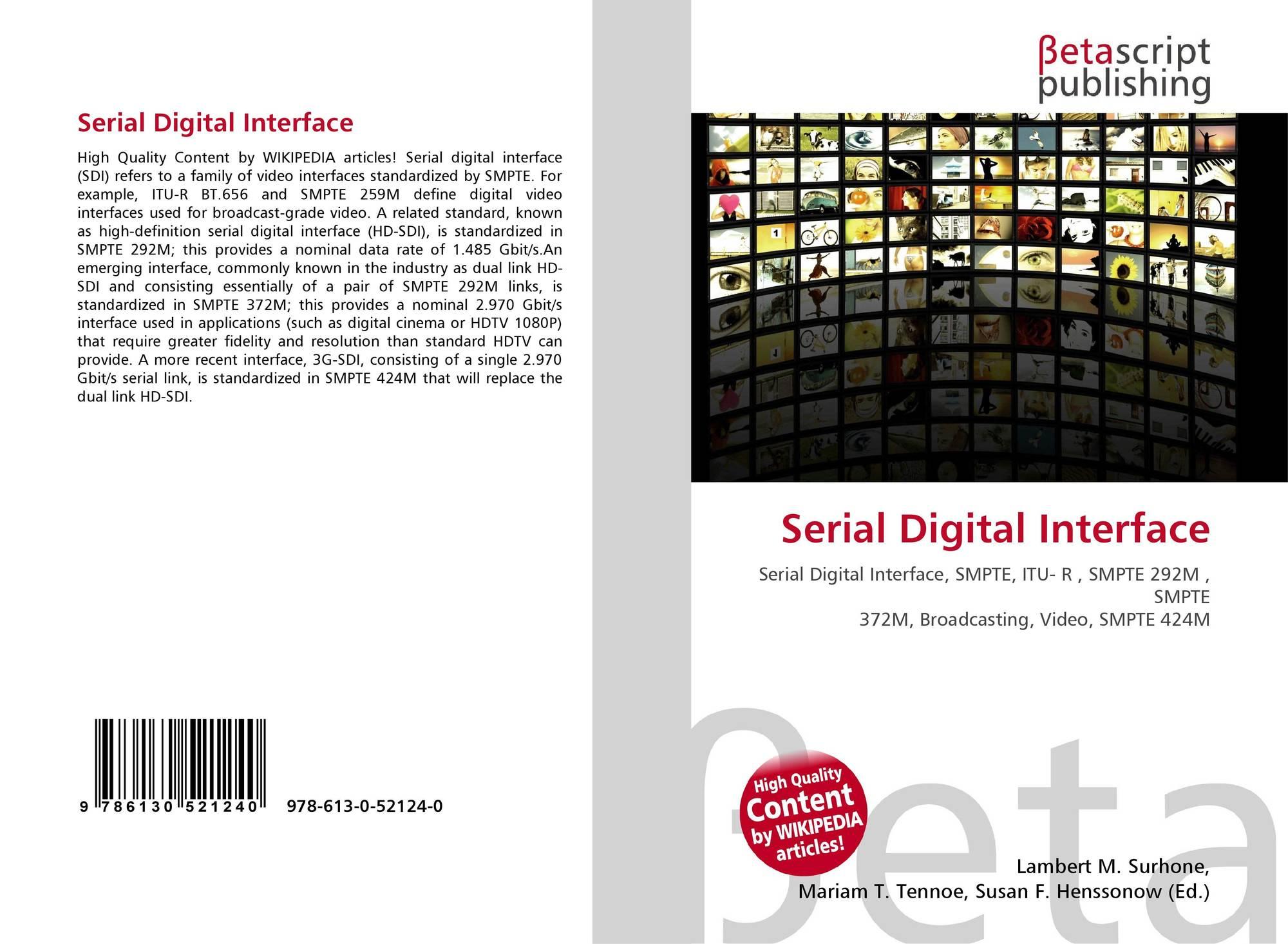 Serial Digital Interface, 978-...