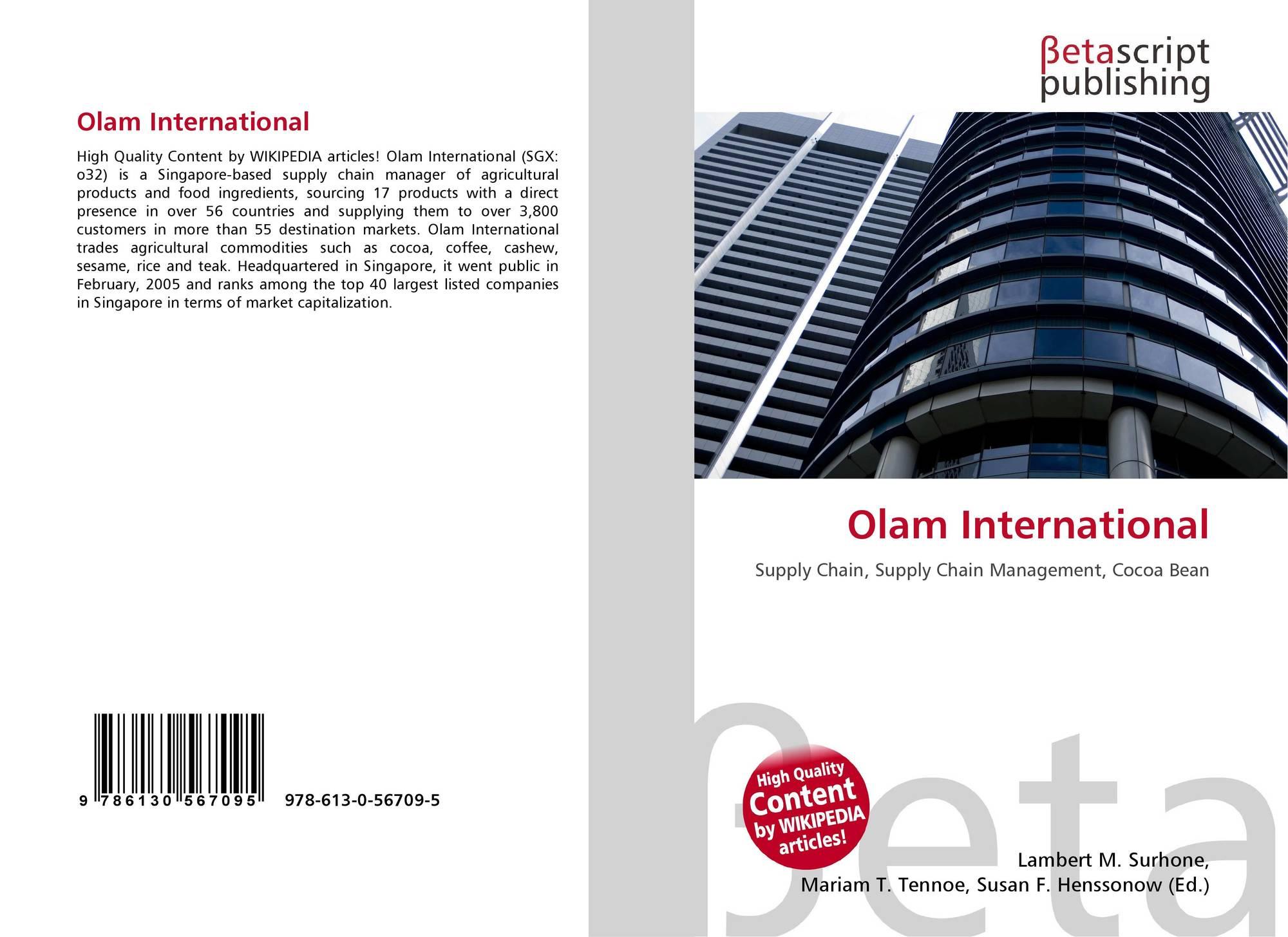 Olam International, 978-613-0-56709-5, 613056709X ,9786130567095
