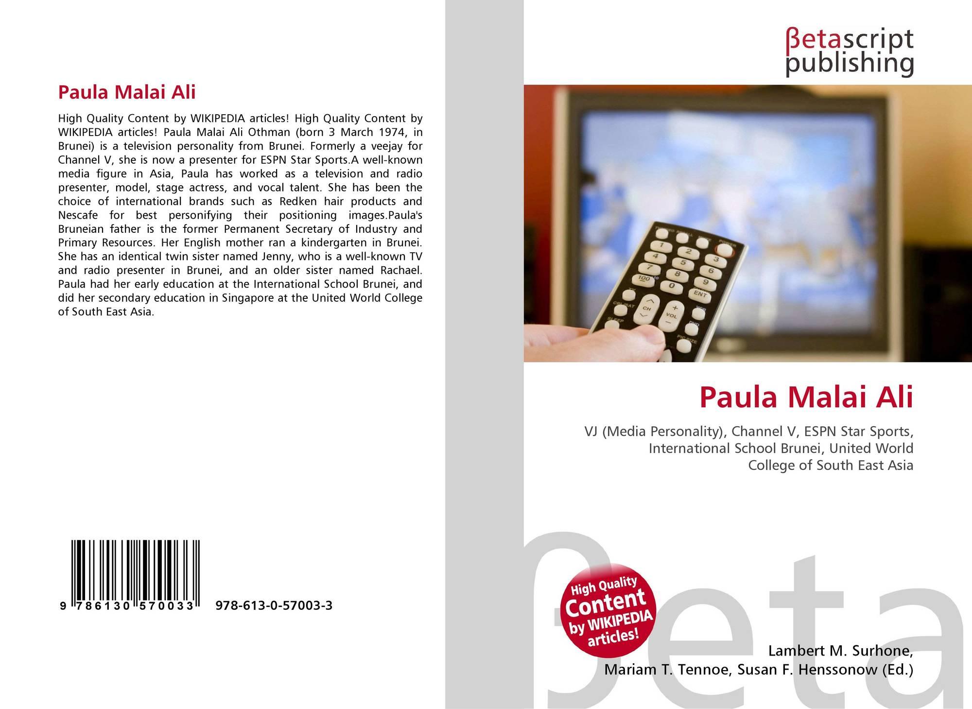 Paula Malai Ali, 978-613-0-57003-3, 6130570031 ,9786130570033