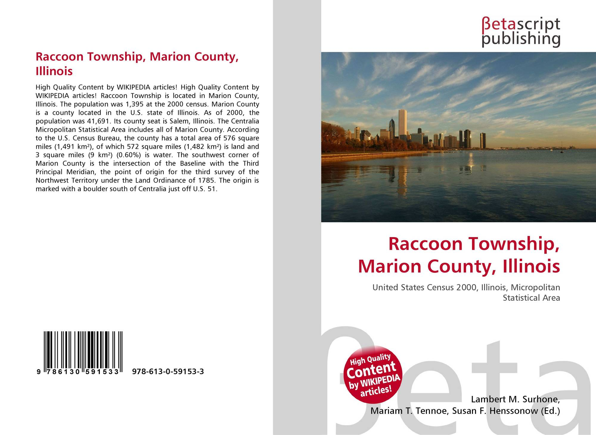 Illinois marion county centralia - Bookcover Of Raccoon Township Marion County Illinois Omni Badge 9307e2201e5f762643a64561af3456be64a87707602f96b92ef18a9bbcada116