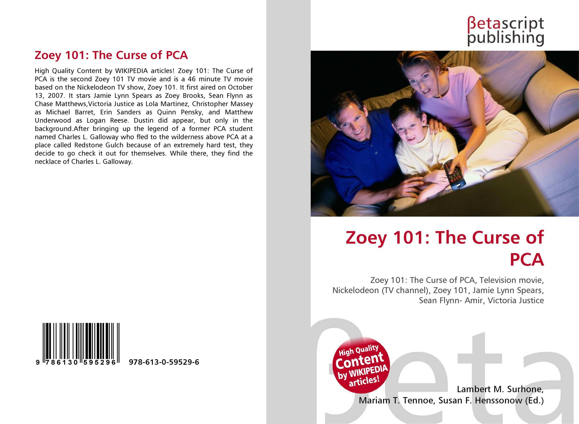 Zoey 101 The Curse Of Pca 978 613 0 59529 6 6130595298