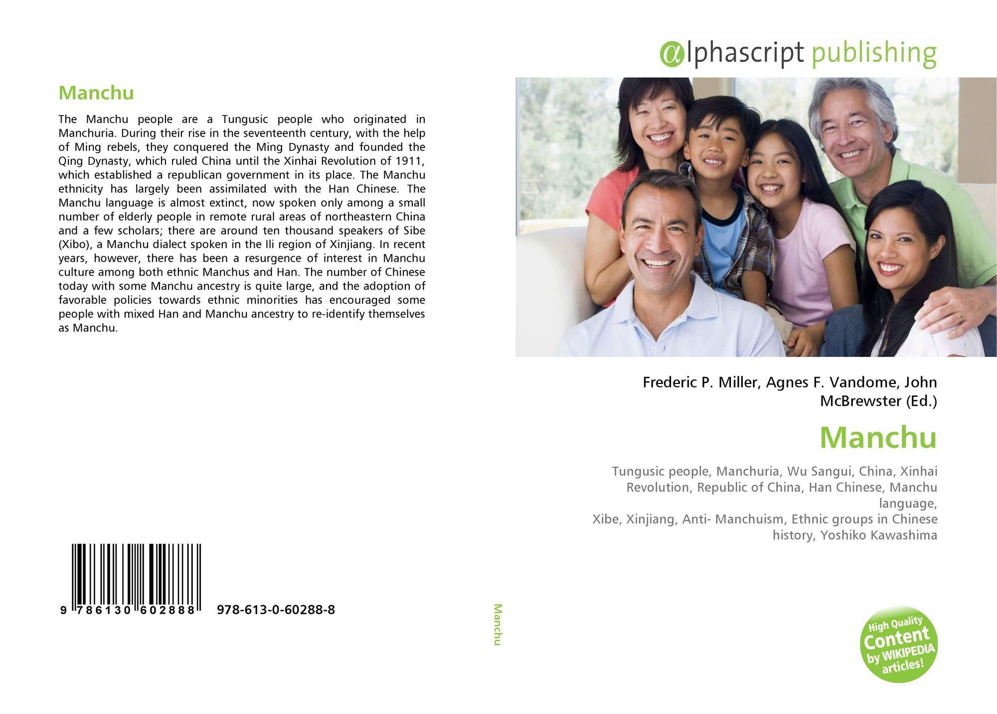 Manchu, 978-613-0-60288-8, 613060288X ,9786130602888