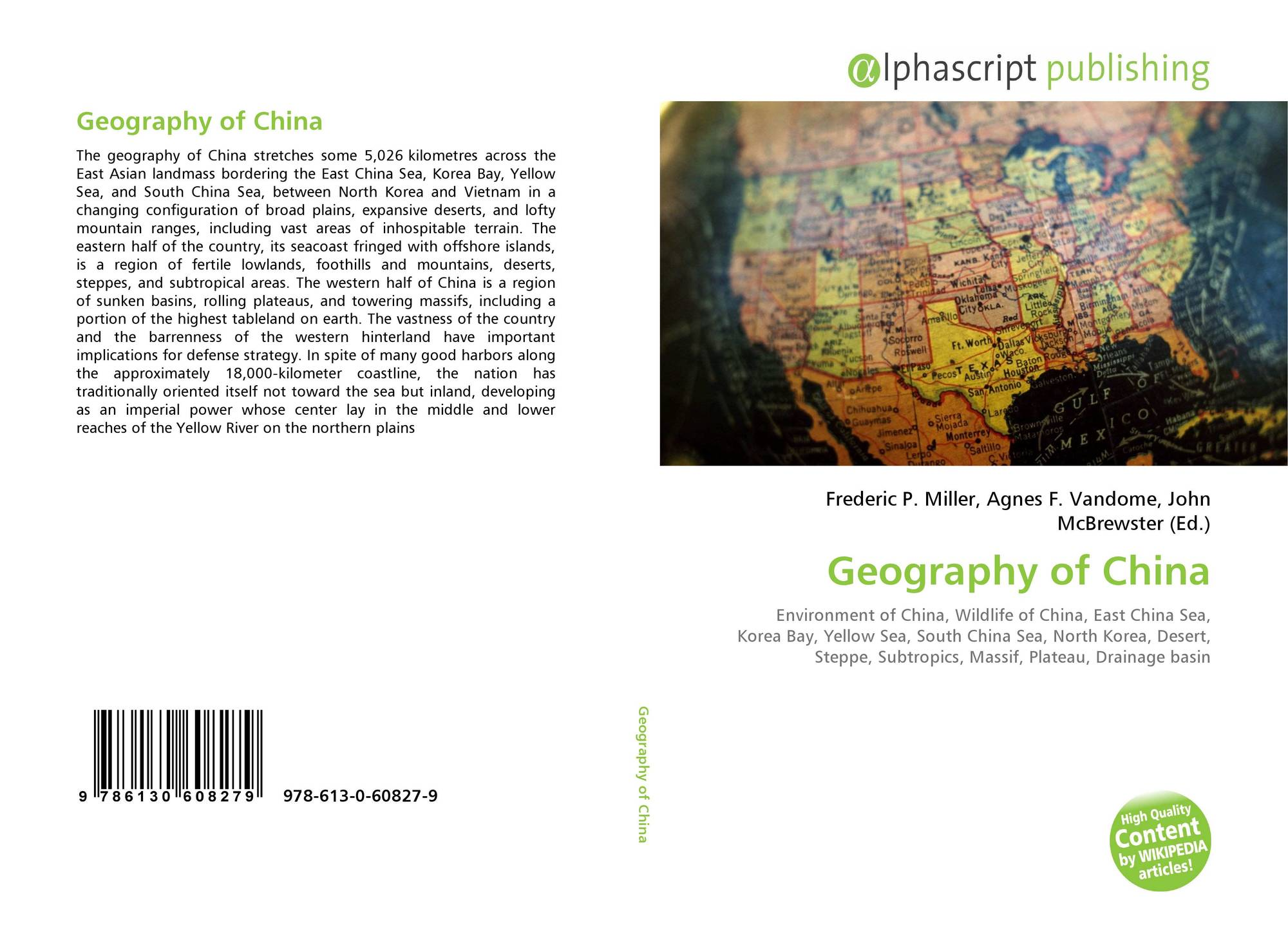 Geography of China, 978-613-0-60827-9, 6130608276 ,9786130608279