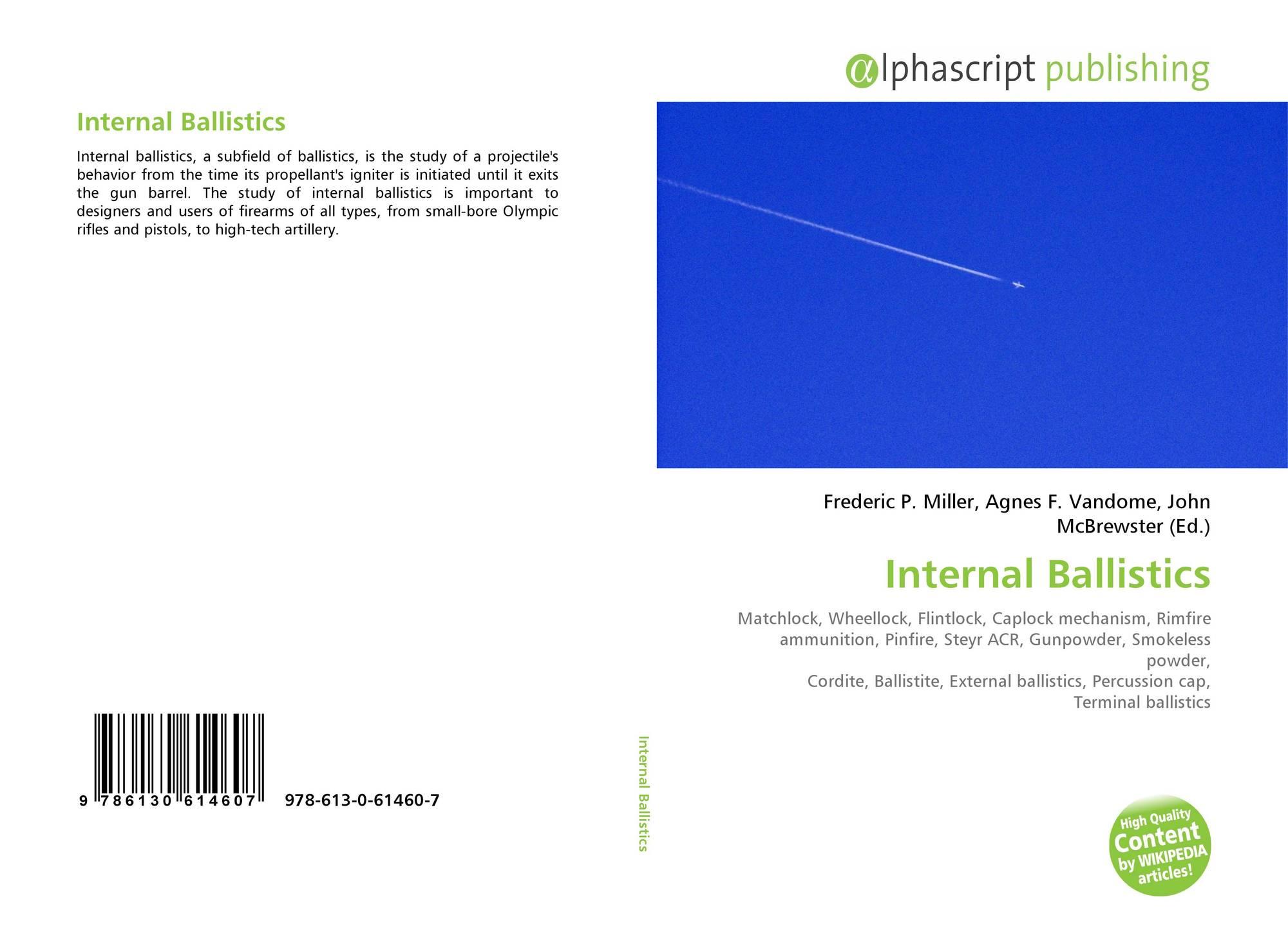 Internal Ballistics, 978-613-0-61460-7, 6130614608 ,9786130614607