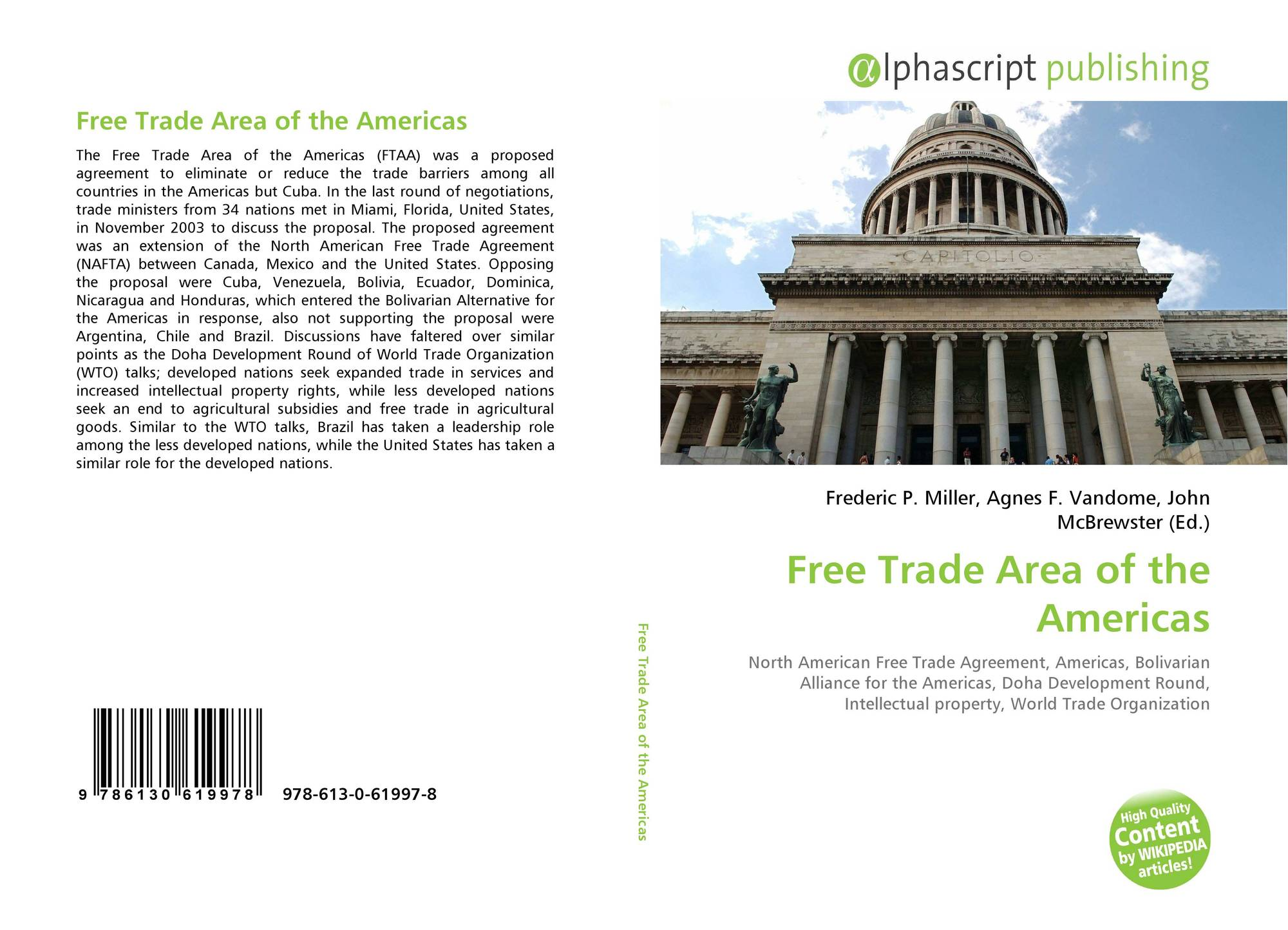 a discussion on a free trade area agreement of latin american countries