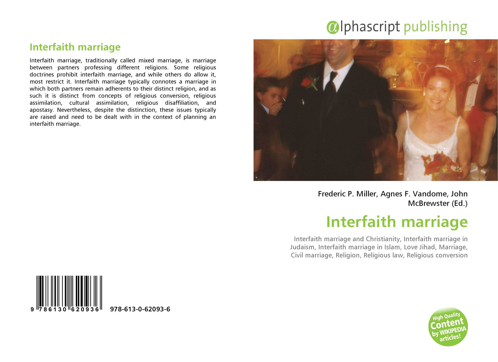 Interfaith marriage, 978-613-0-62093-6, 6130620934
