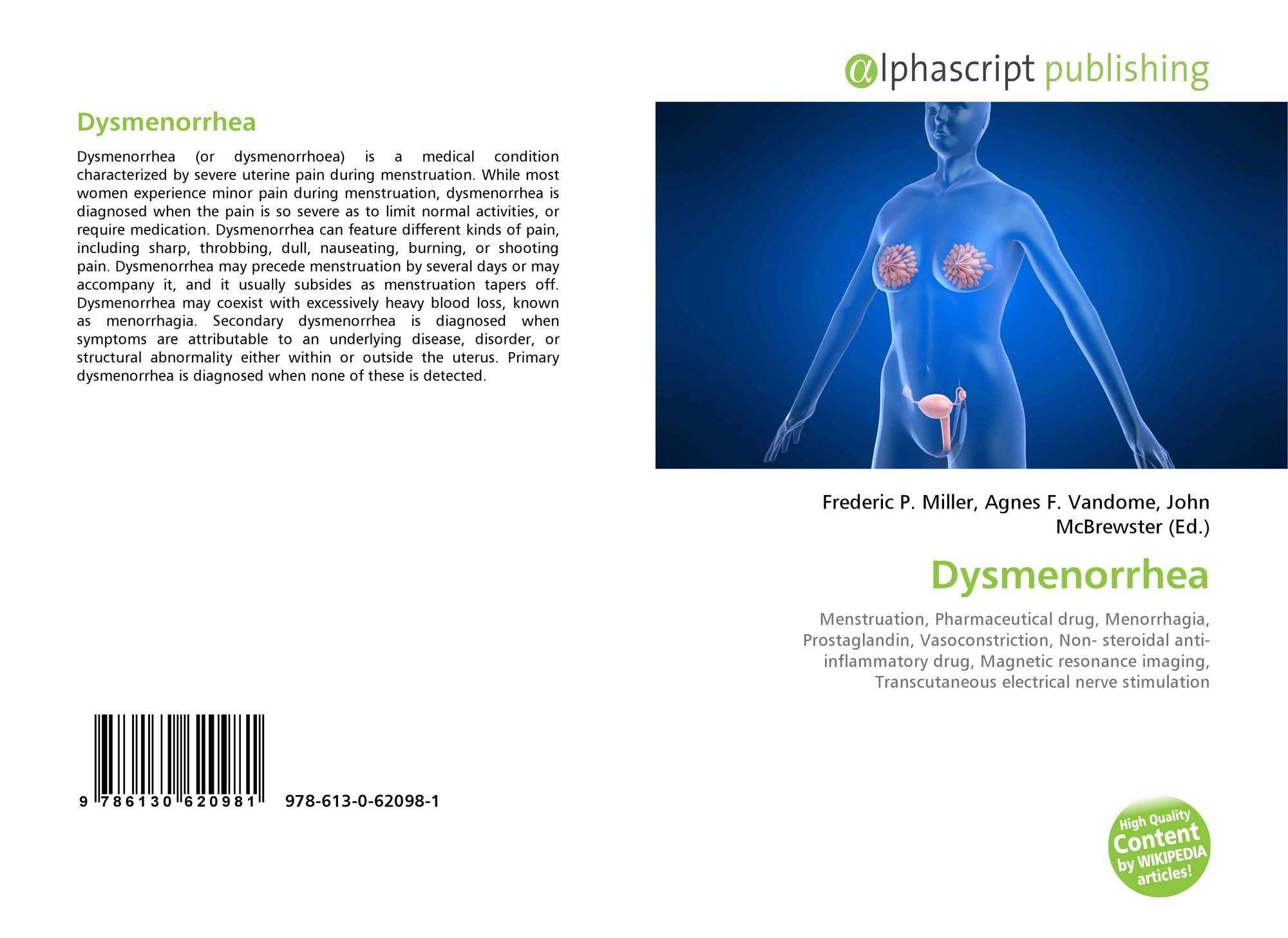 research paper dysmenorrhea