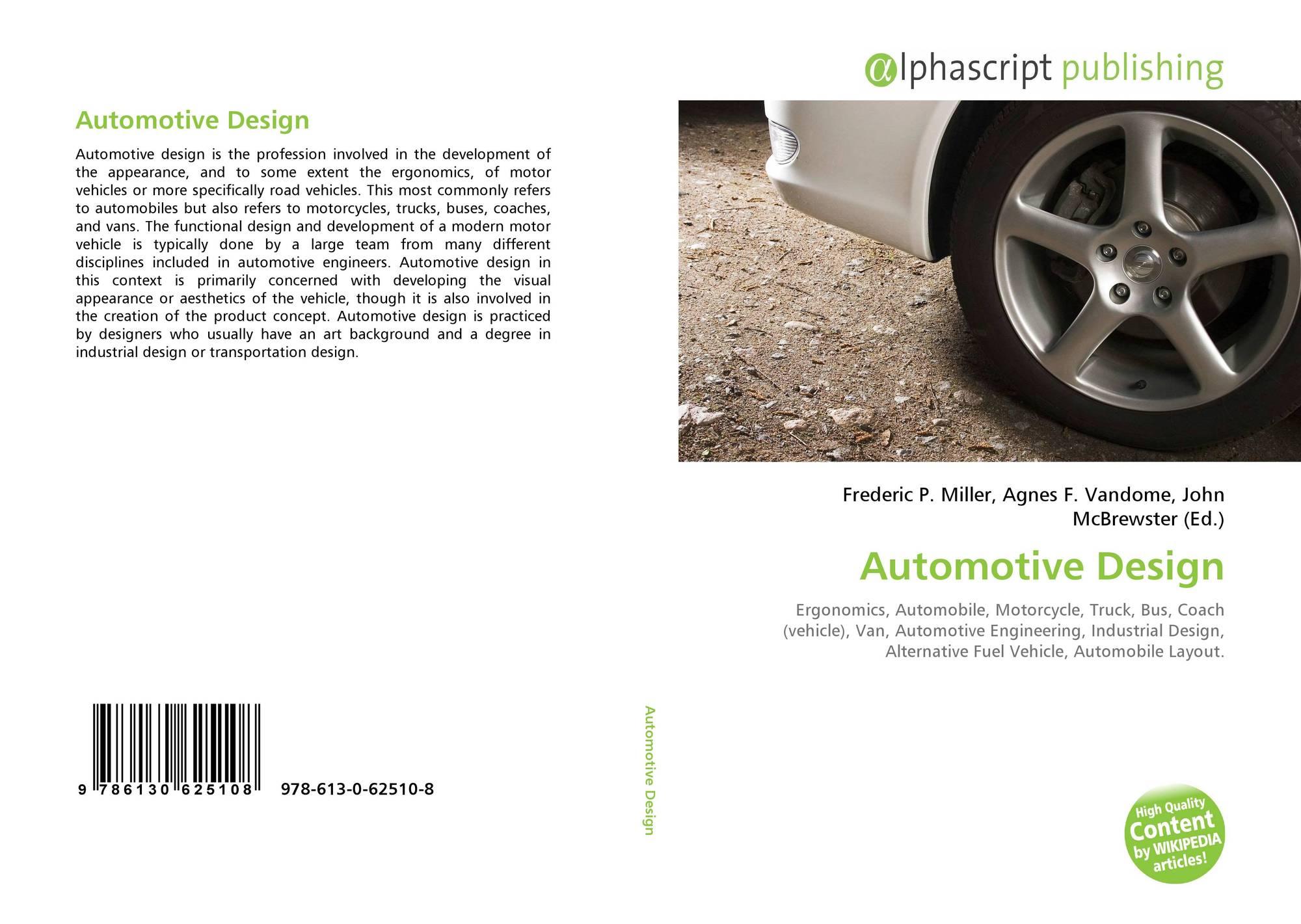 Automotive Design 978 613 0 62510 8 6130625103 9786130625108