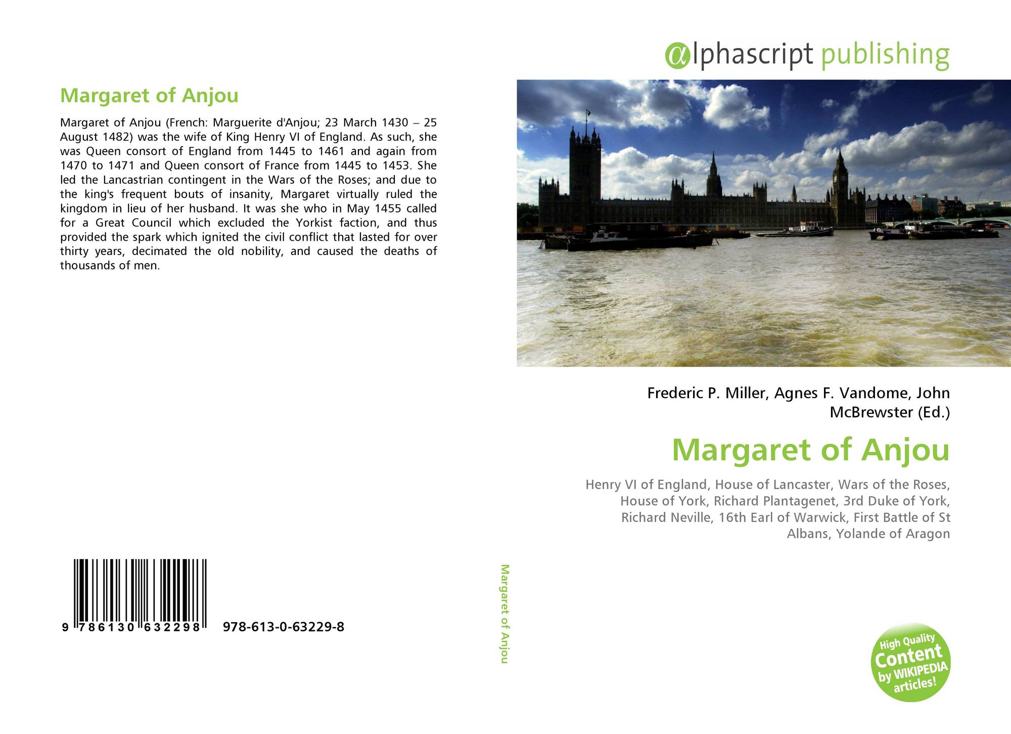 Margaret of Anjou, 978-613-0-63229-8, 6130632290 ,9786130632298