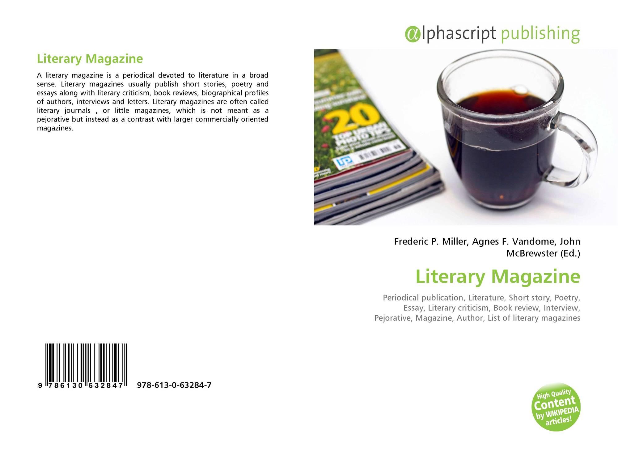 literary essay magazine
