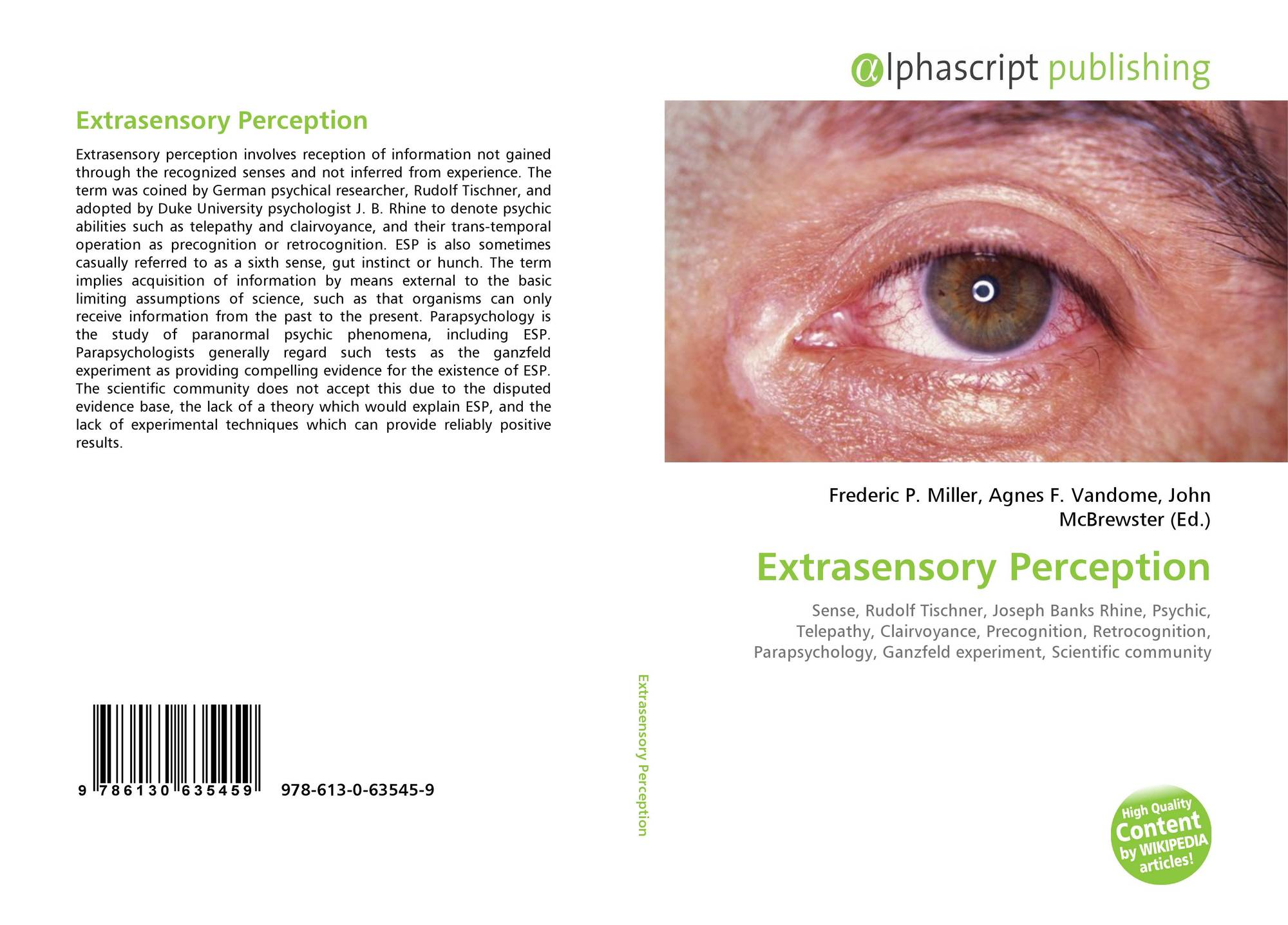 a lab experiment on extrasensory perception or esp for the psychology course