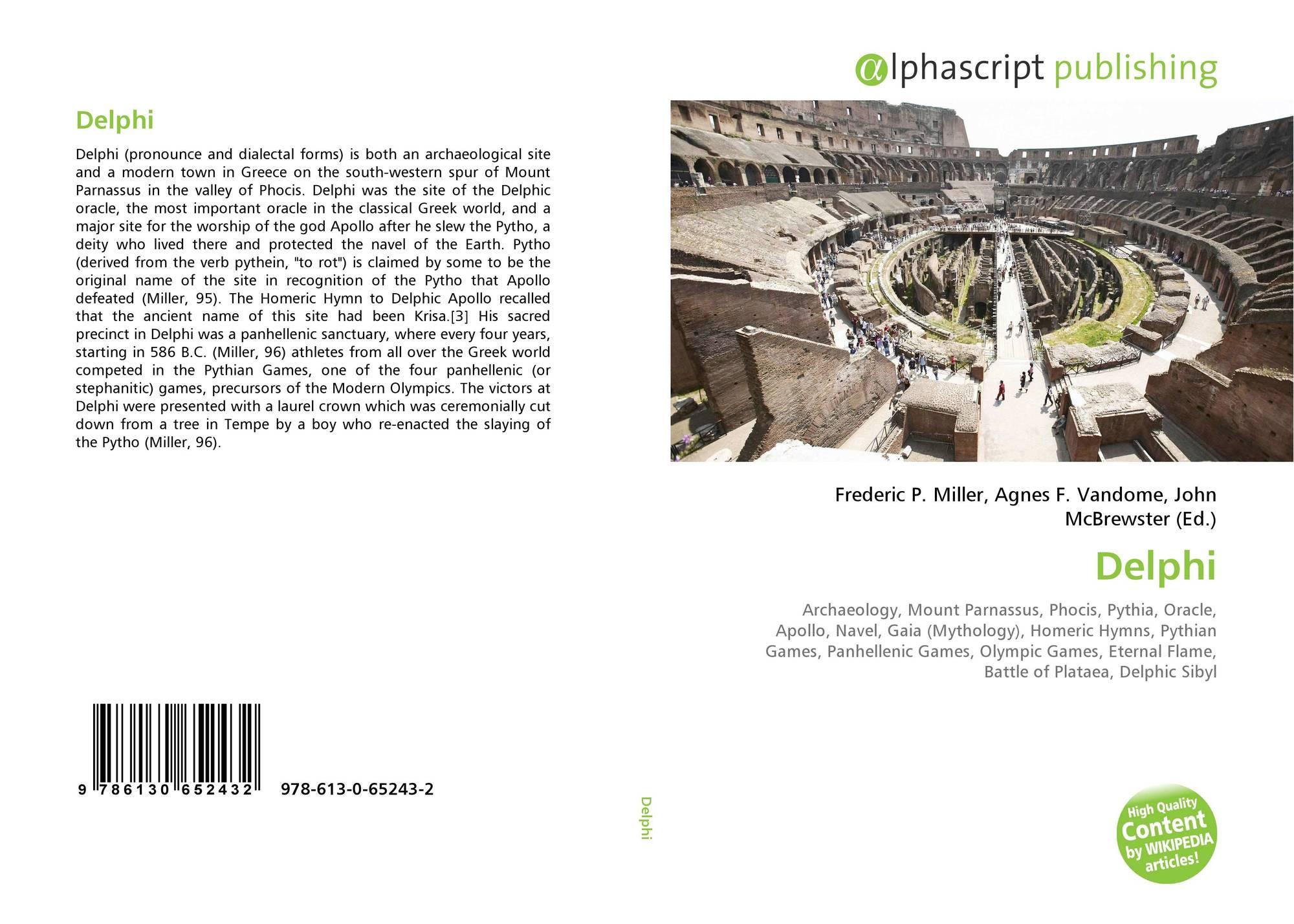 Delphi, 978-613-0-65243-2, 6130652437 ,9786130652432