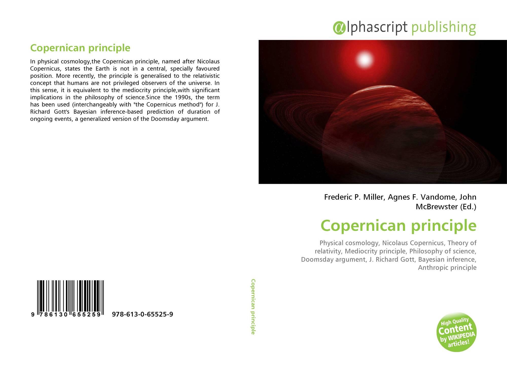 Copernican principle, 978-613-0-65525-9, 6130655258 ,9786130655259