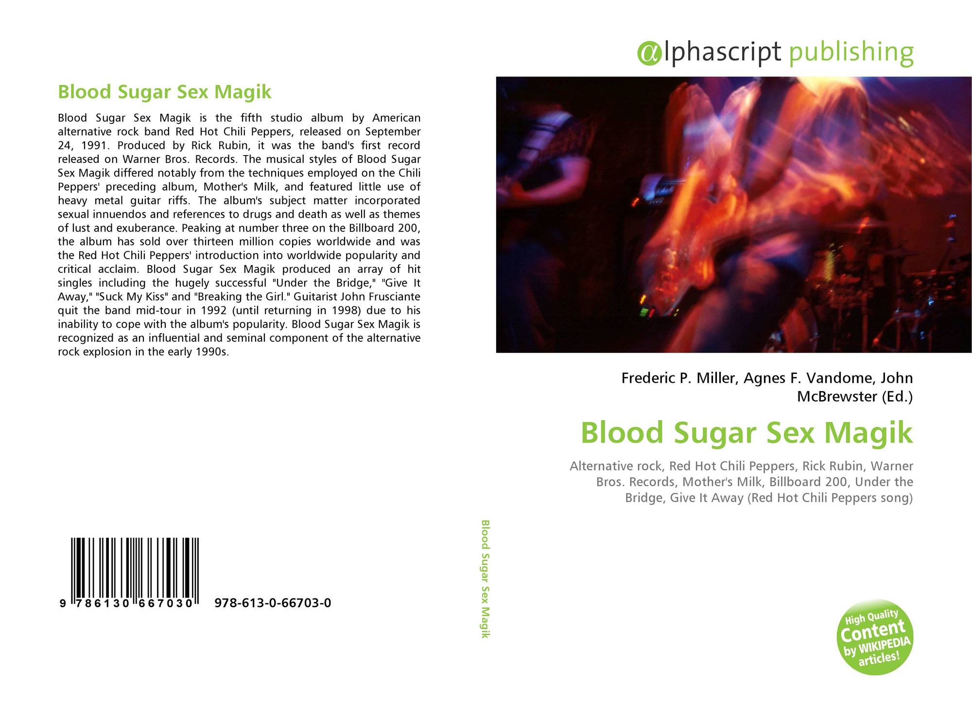 Blood high sex sugar