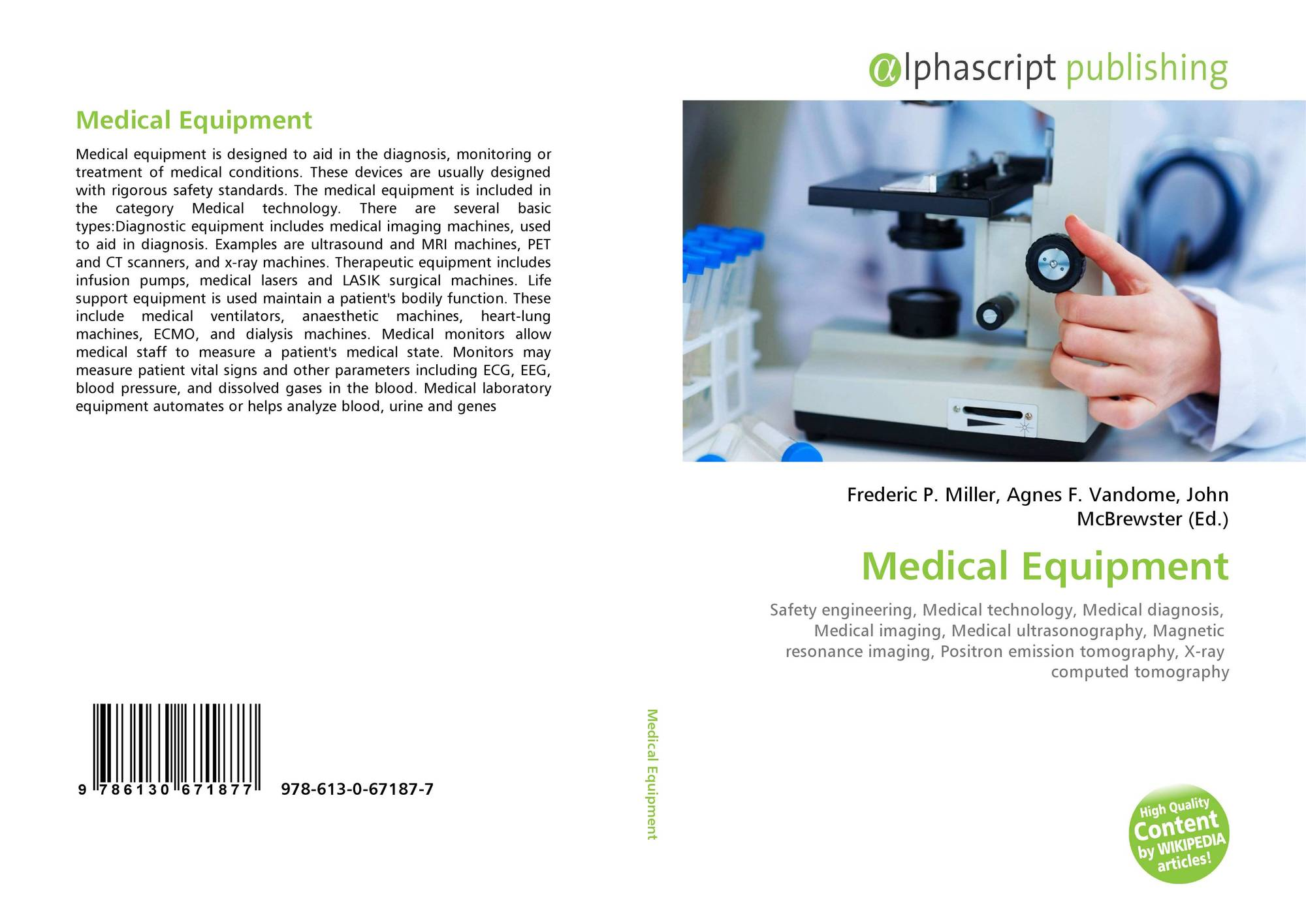 Medical equipment: a selection of articles