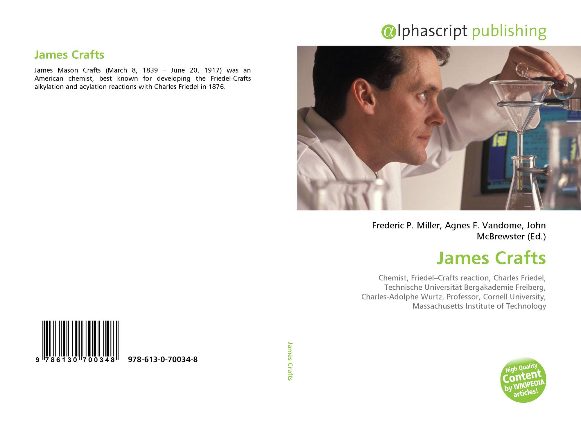 search results for friedel schardt bookcover of james crafts