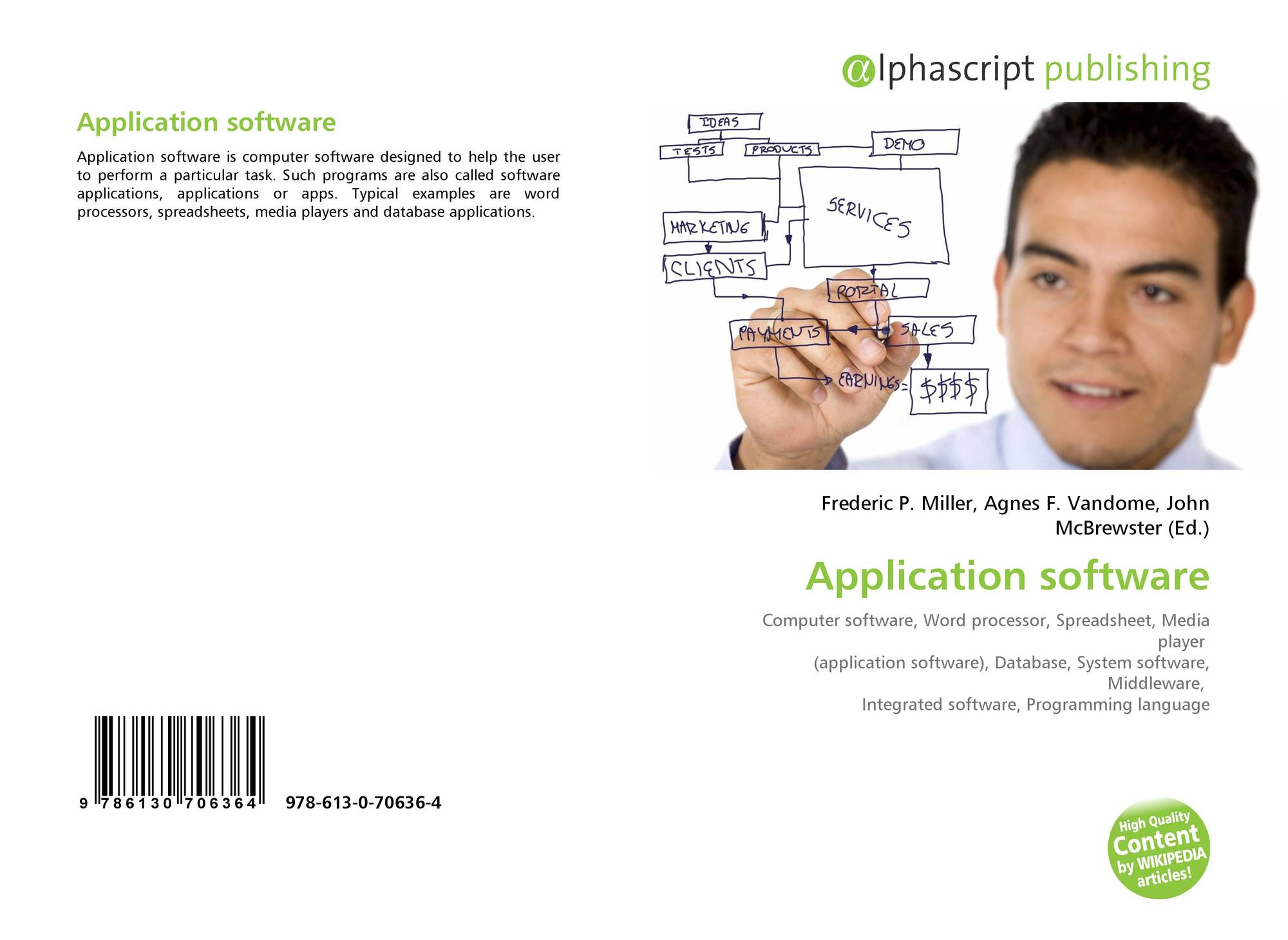 Application software, 978-613-0-70636-4, 6130706367 ,9786130706364