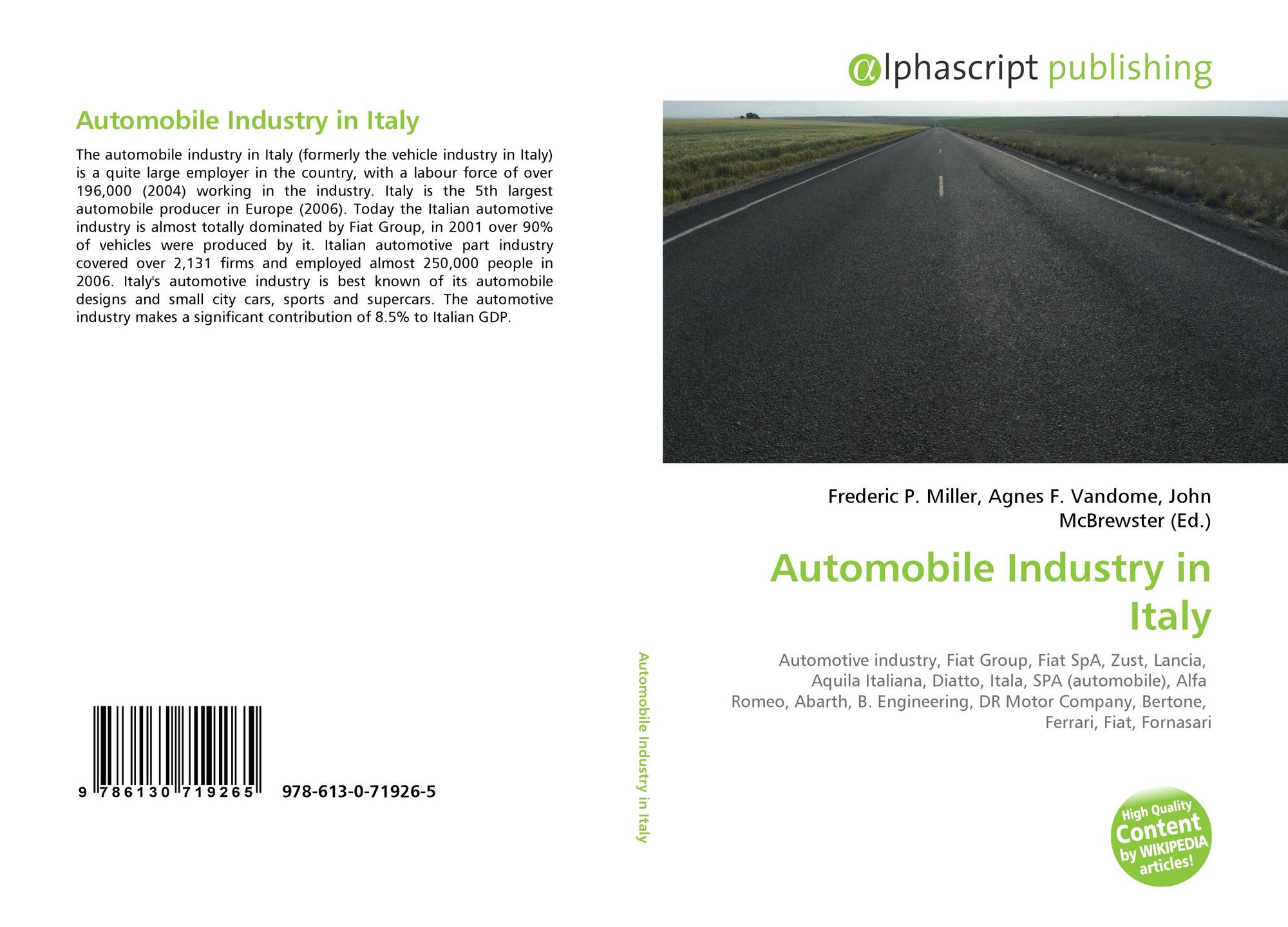 the automobile industry is a highly cyclical one marketing essay Automobile industry is a symbol of technical marvel by human kind being one of the fastest growing sectors in the world its dynamic growth phases are 3 chapter 1 introduction india is an emerging market for worldwide auto-giants due to low cost of labour many multinational companies.