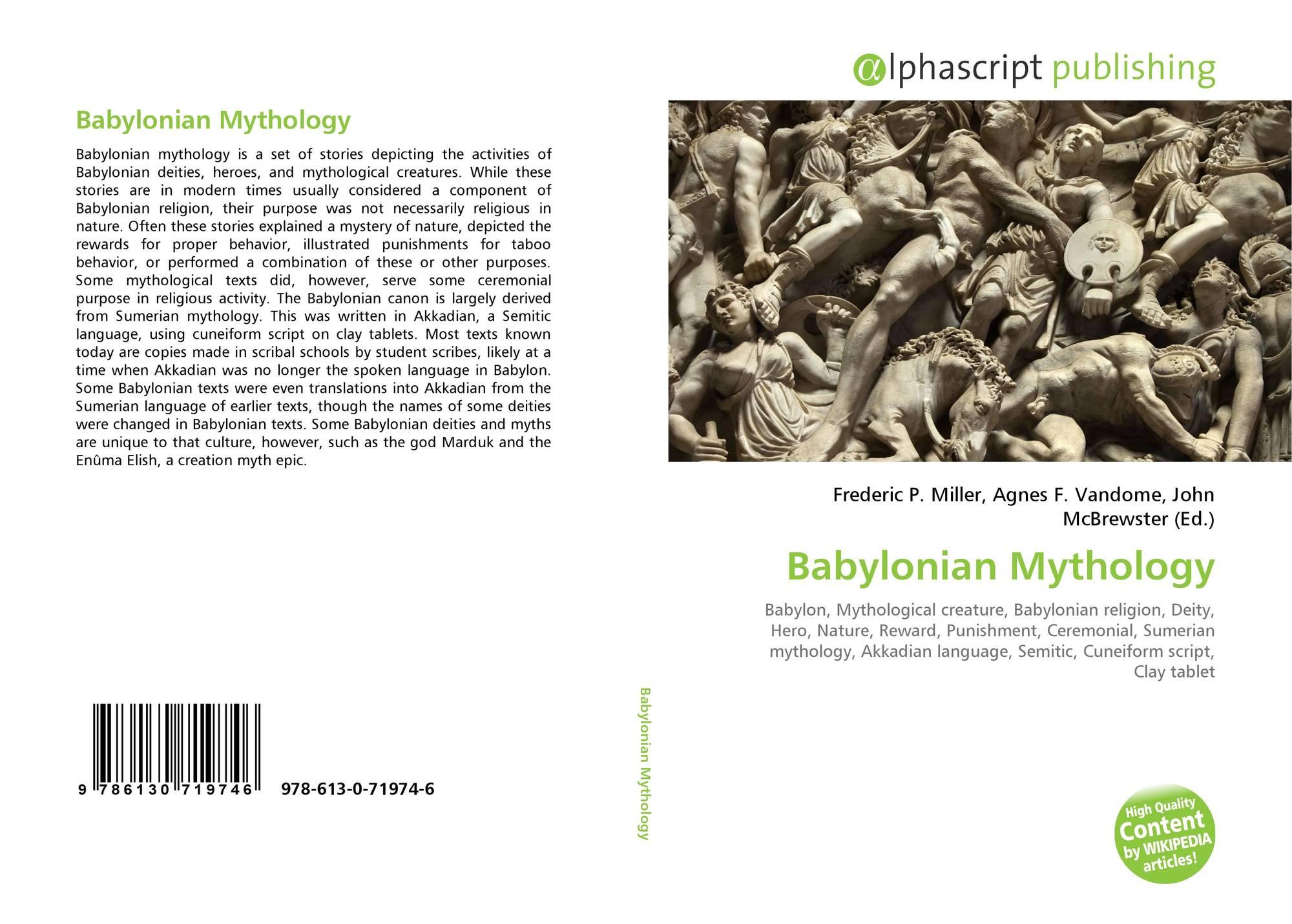 Babylonian Mythology, 978-613-0-71974-6, 6130719744