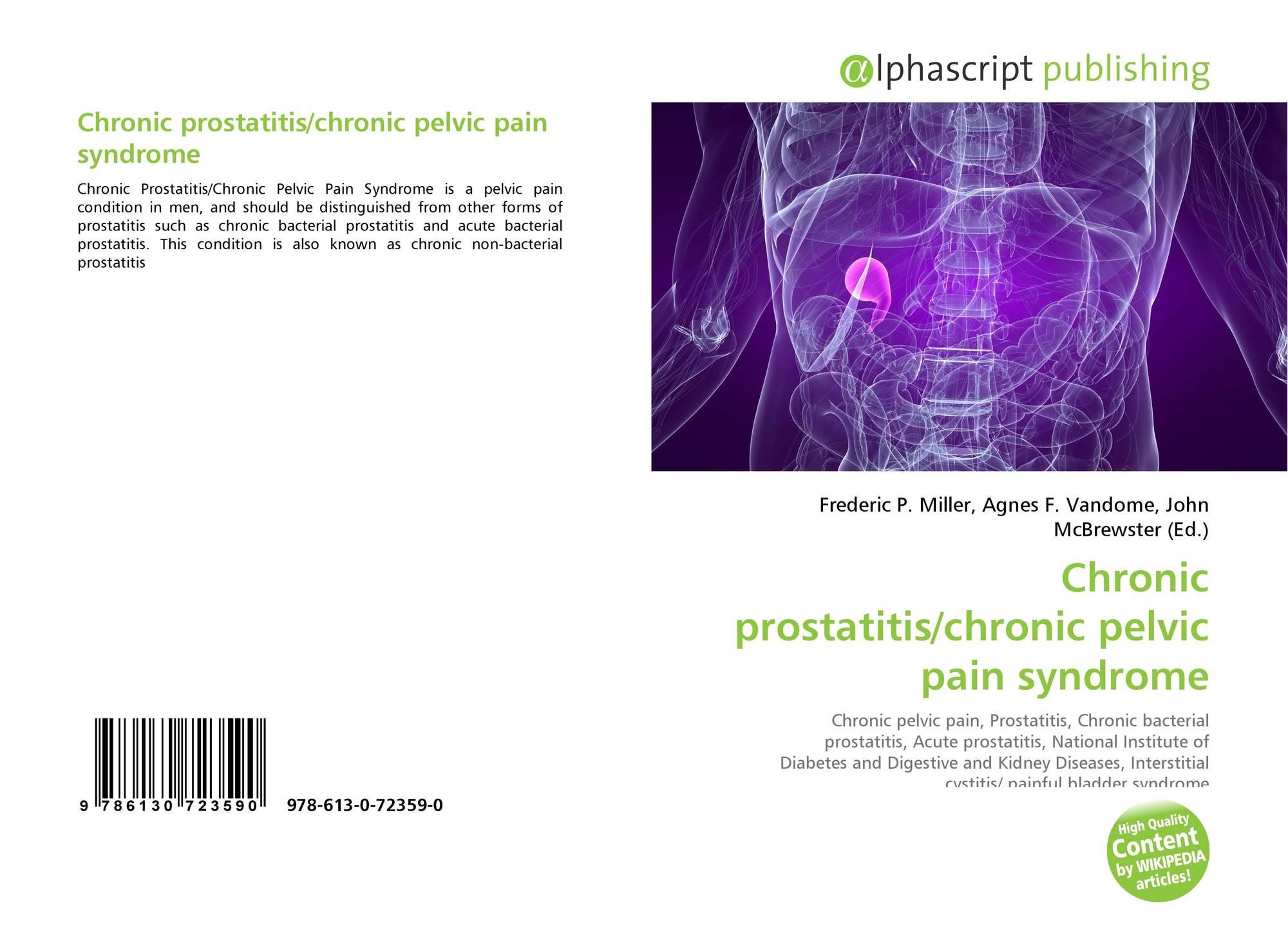 Pyelonephritis és prosztatitis kezelése Prostatitis szexuális impotencia