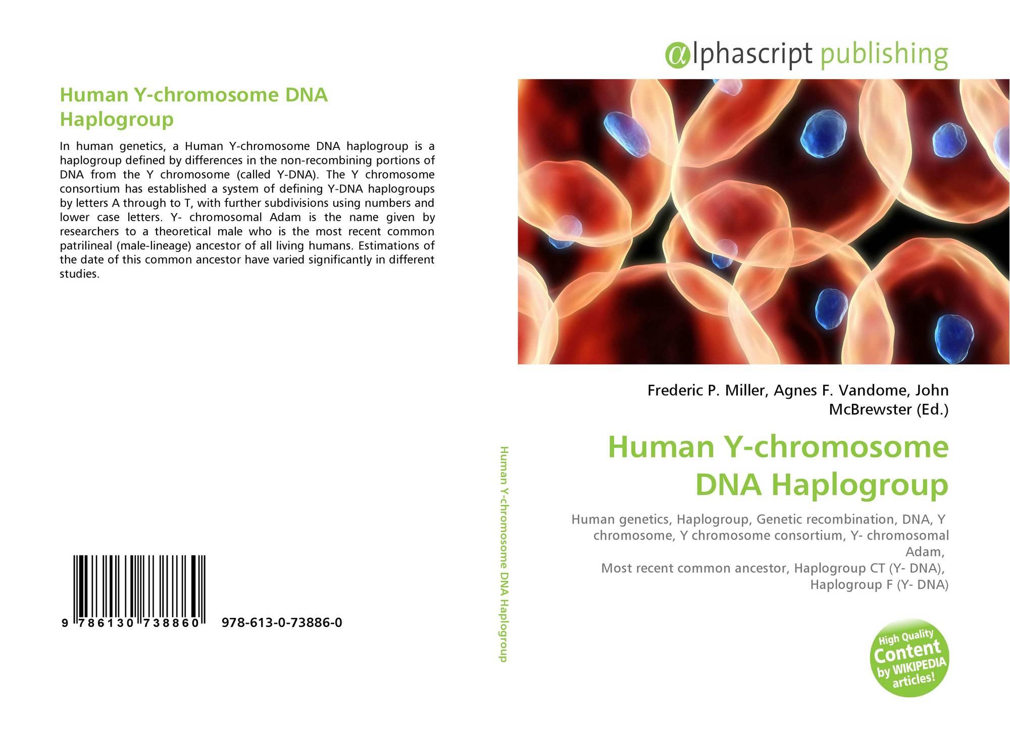 Chromosome haplogroup y Y
