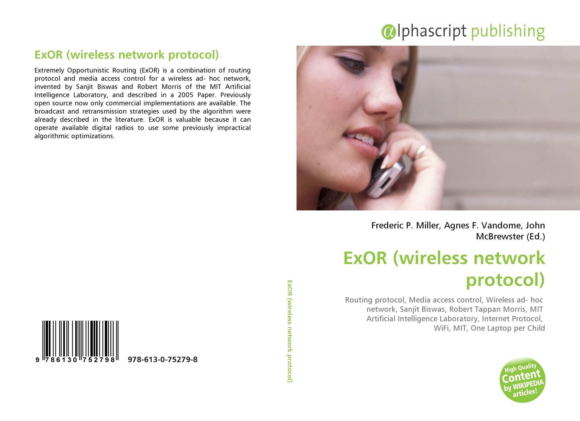 ExOR (wireless network protocol), 978-613-0-75279-8