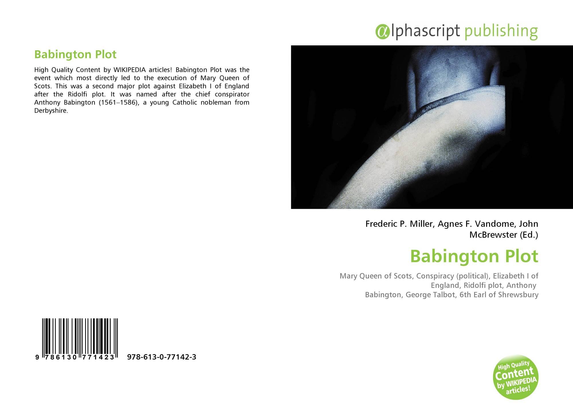 what was the babington plot