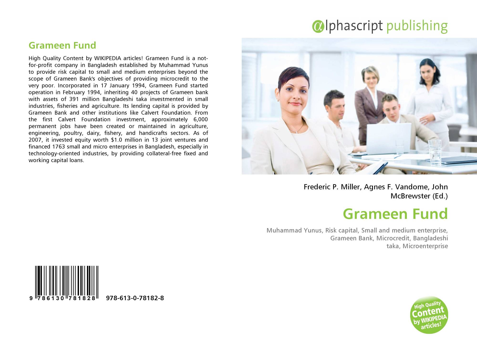 Bookcover of Grameen Fund