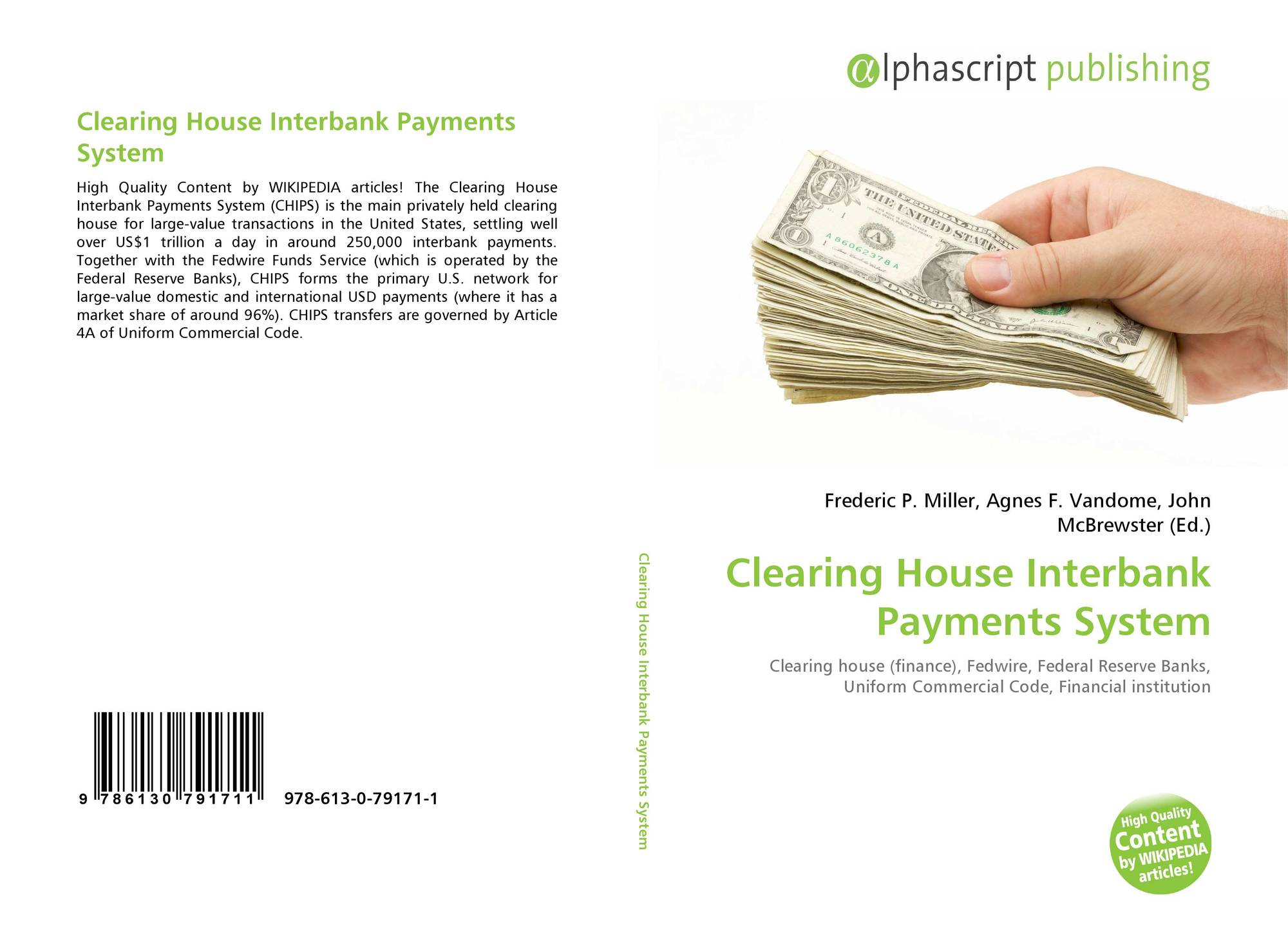 Clearing House Interbank Payments System, 978-613-0-79171-1