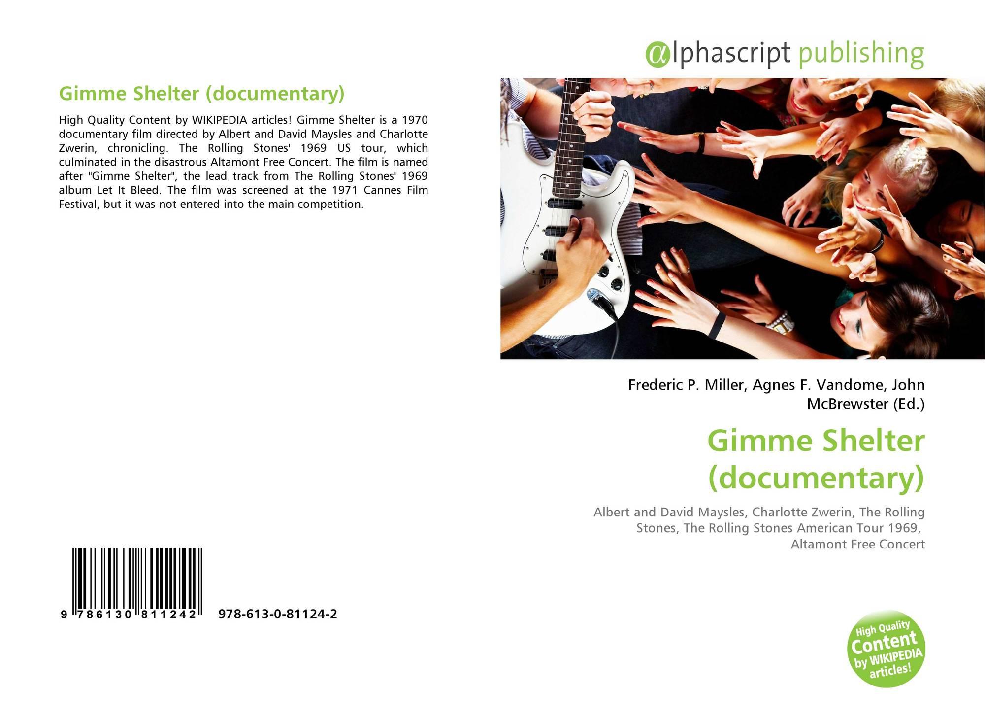 Gimme Shelter (documentary), 978-613-0-81124-2, 6130811241