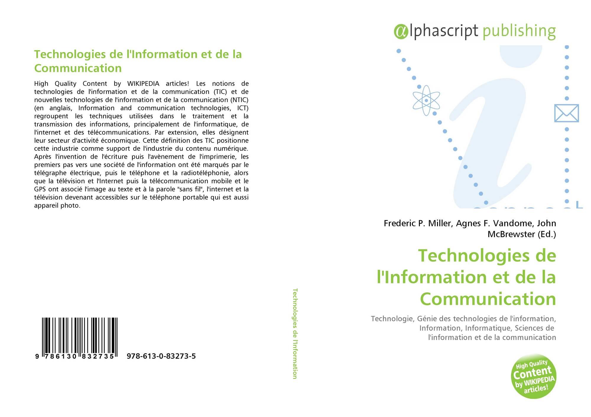 technologies de linformation et de la communication - HD2000×1411