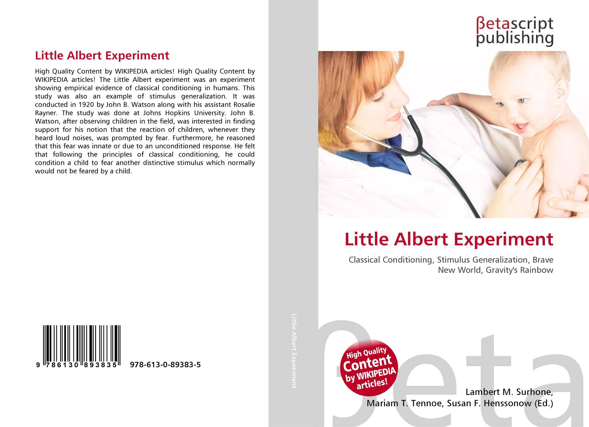 albert experiment