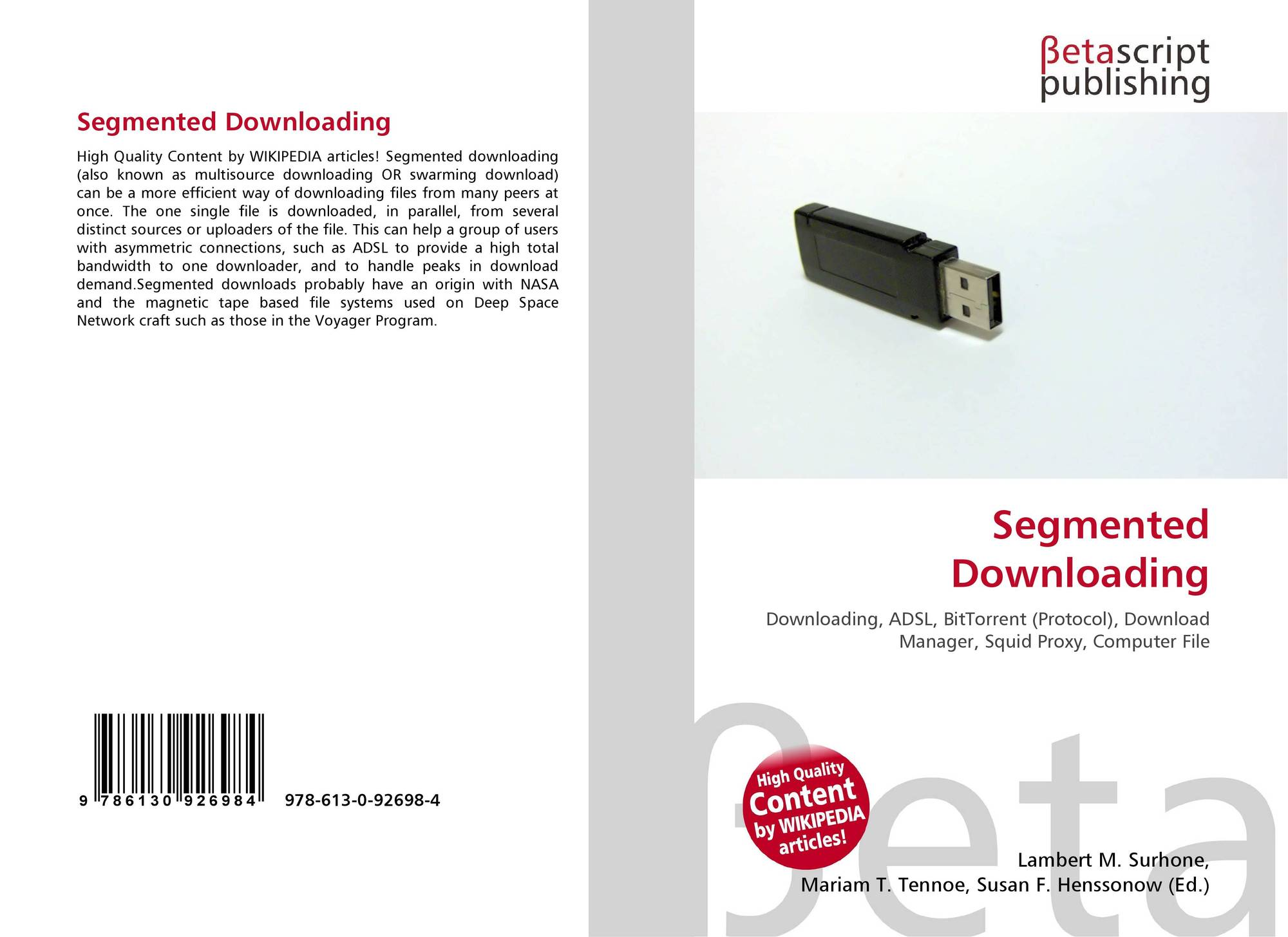 Bookcover of Segmented Downloading