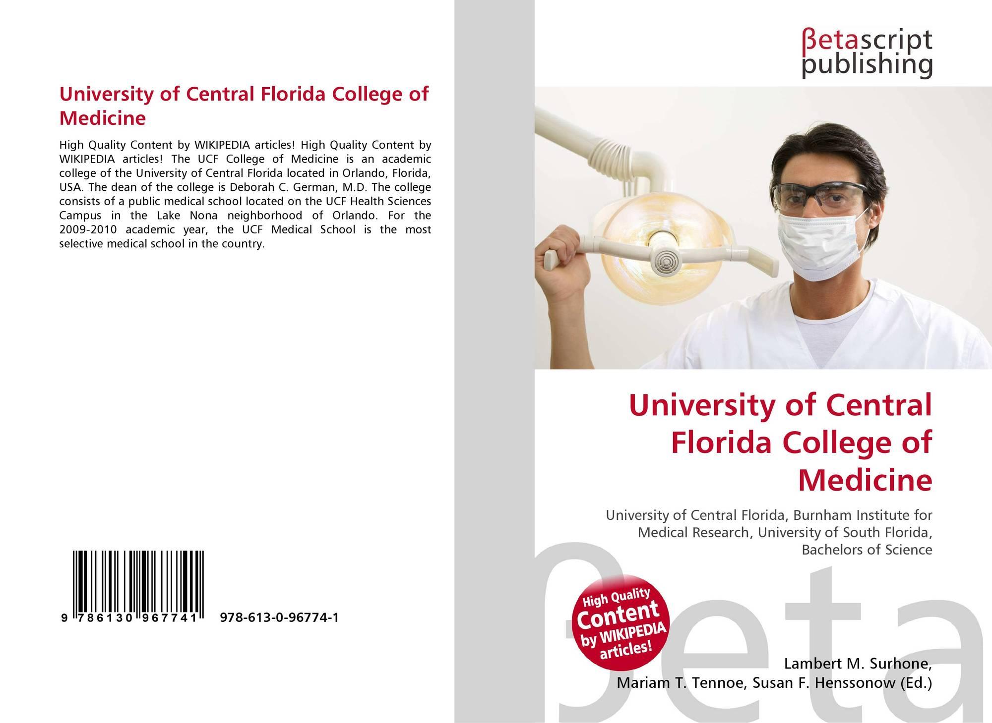 University of Central Florida College of Medicine, 978-613-0