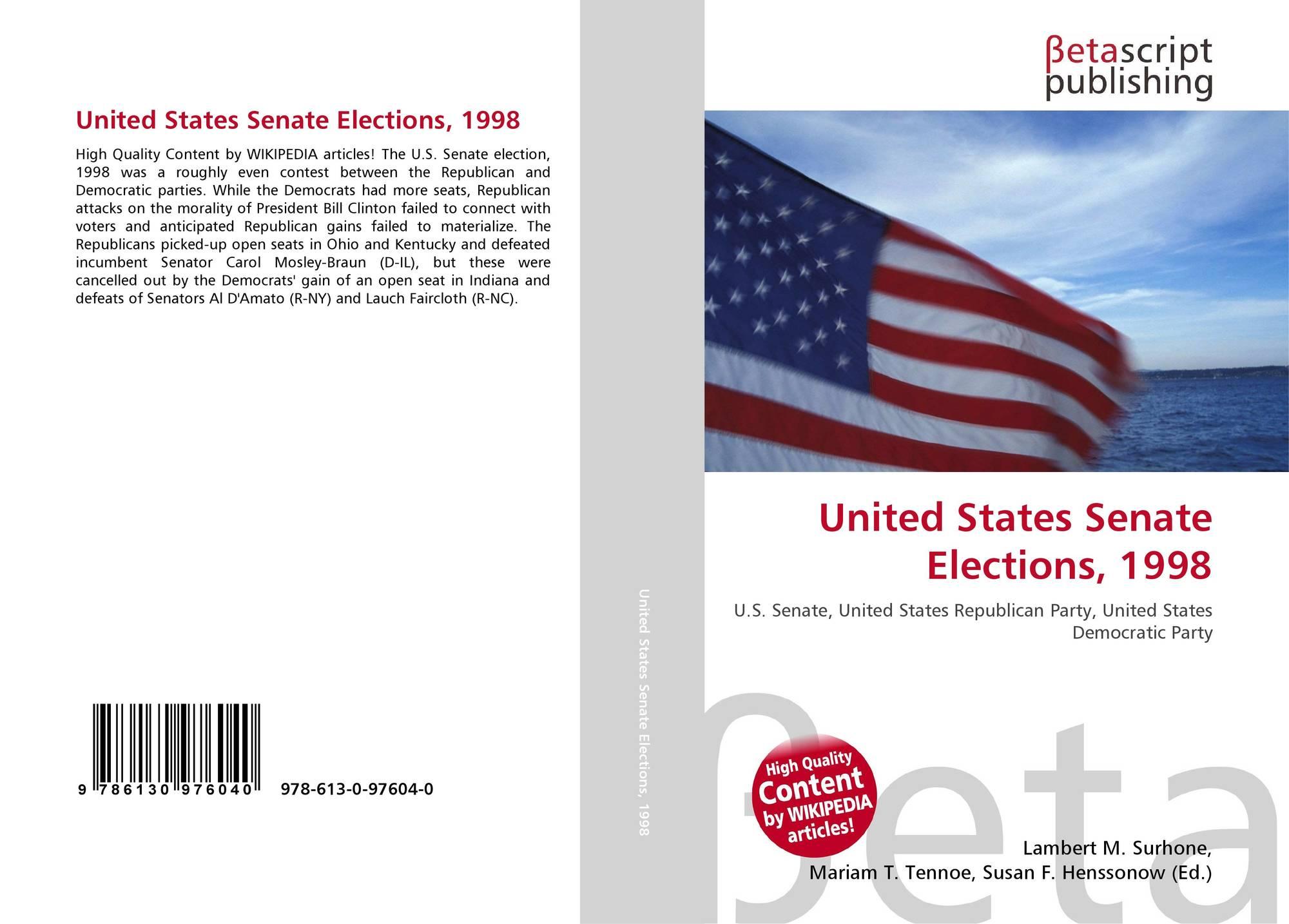 1986 United States Senate elections