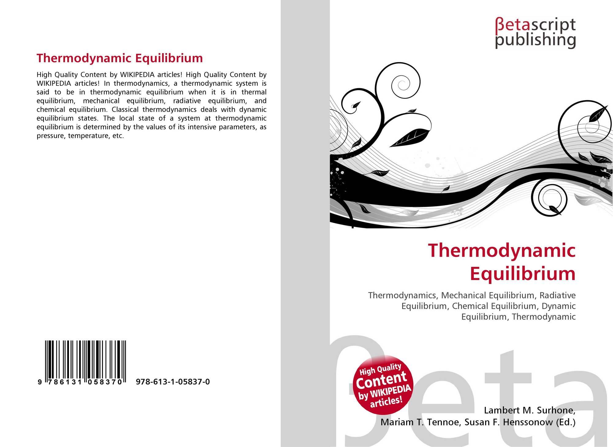 mechanical equilibrium