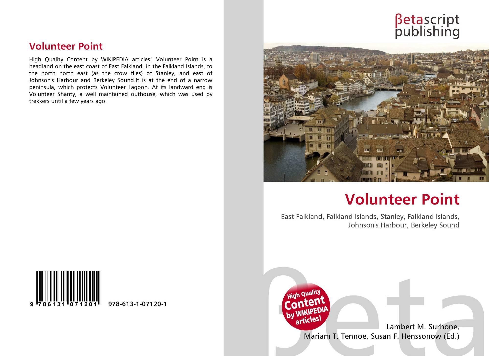 Volunteer Point, 978-613-1-07120-1, 6131071209 ,9786131071201