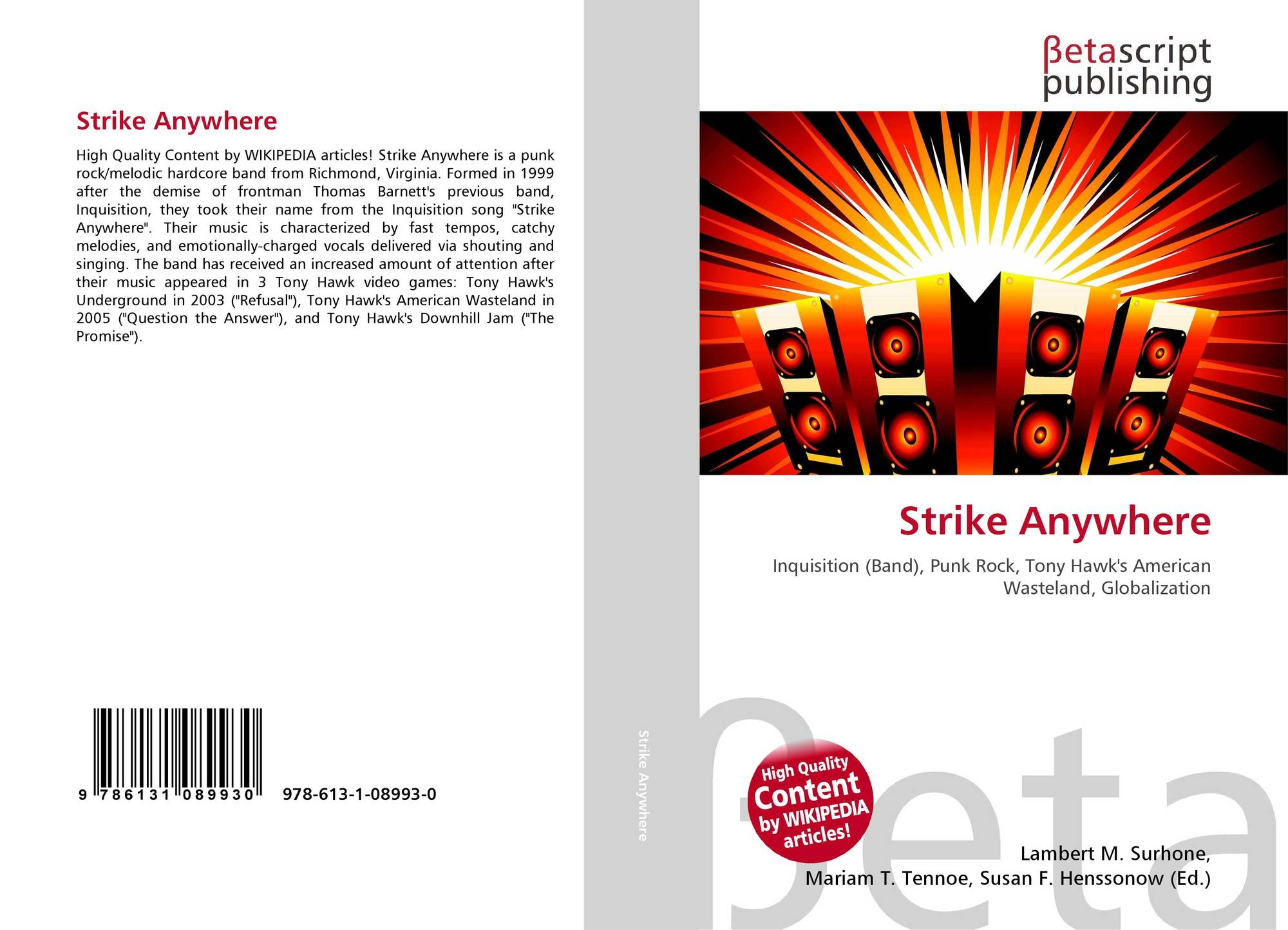 Bookcover of Strike Anywhere
