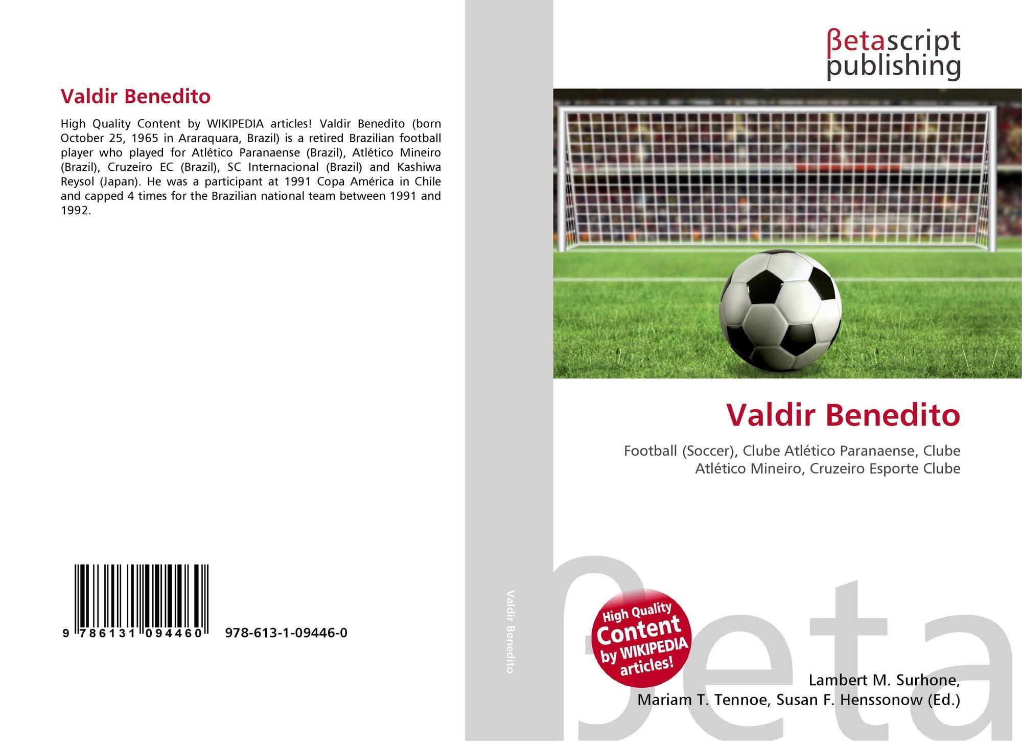 Valdir Benedito 978 613 1 09446 0 6131094462 9786131094460