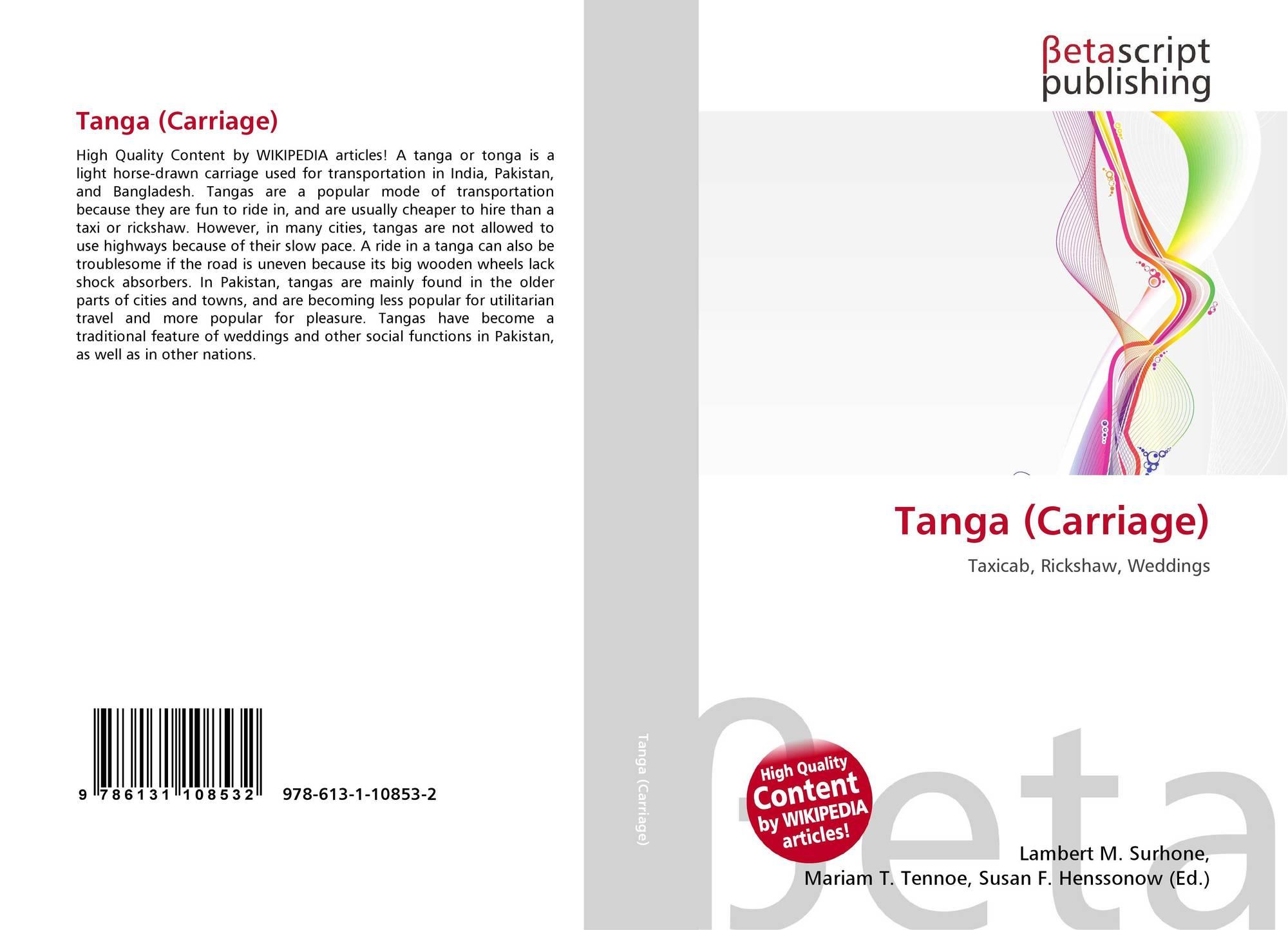 482264465 Tanga (Carriage)