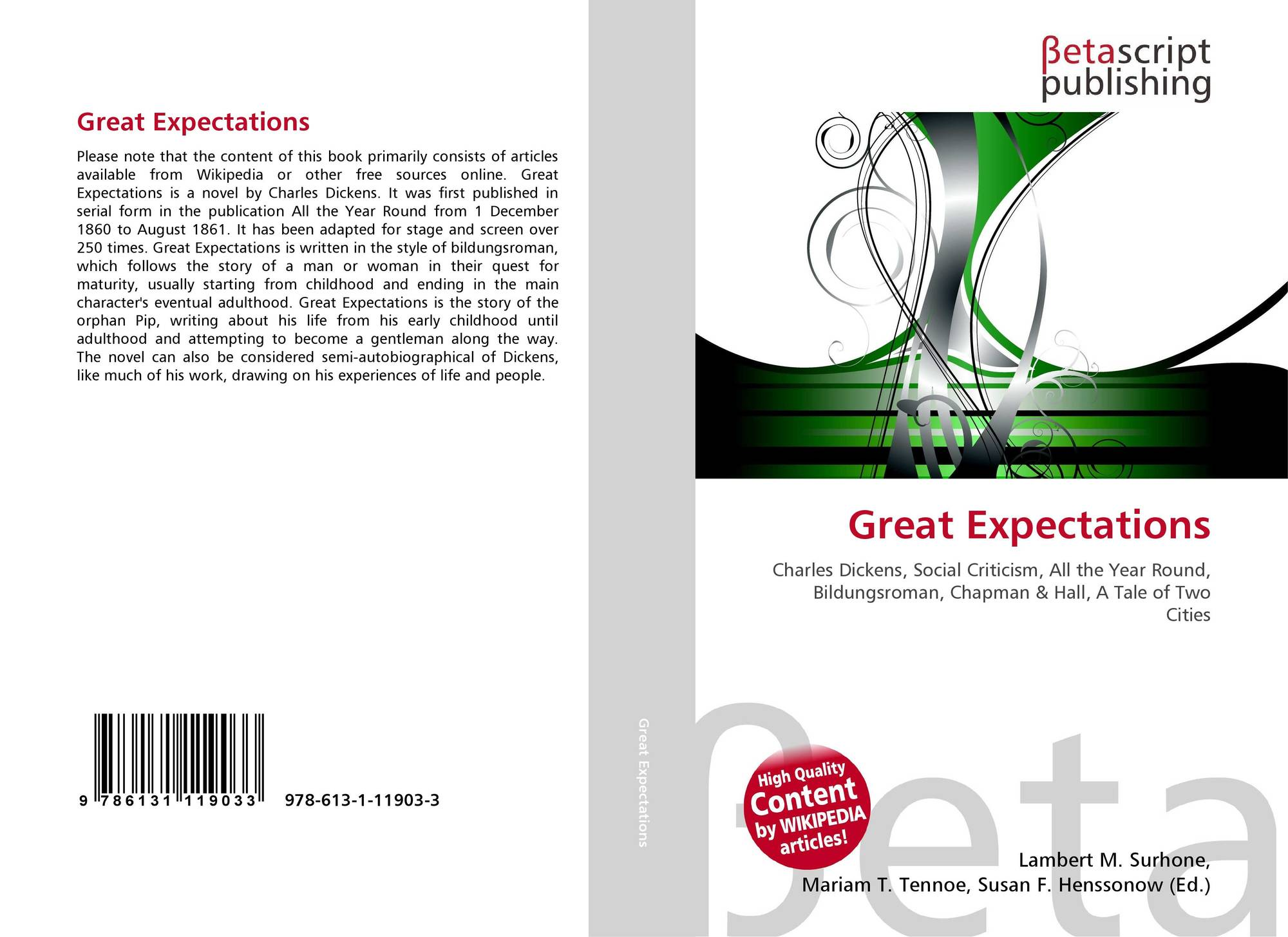 great expectations criticism