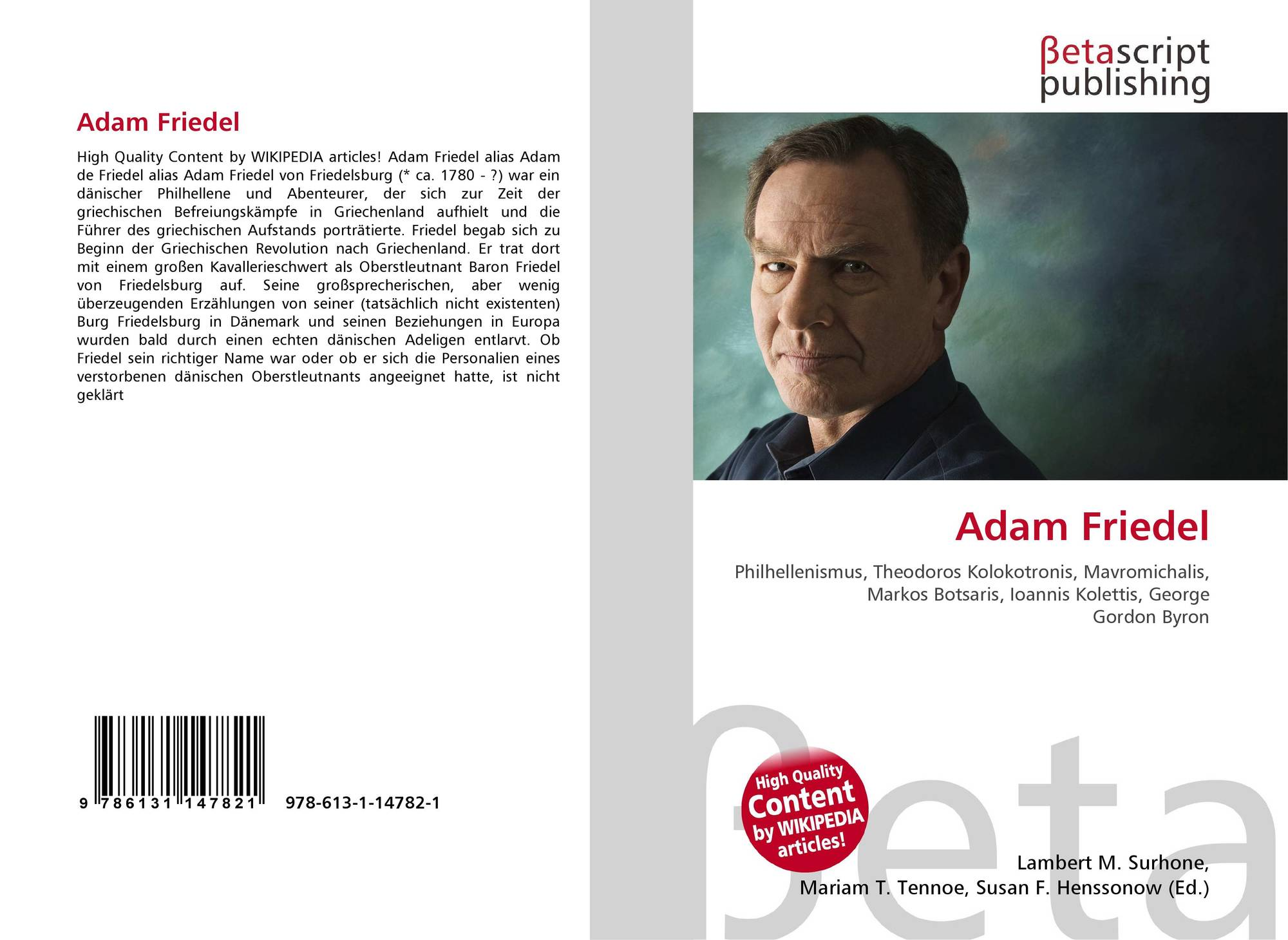 search results for selecci oacute n de pareja bookcover of adam friedel