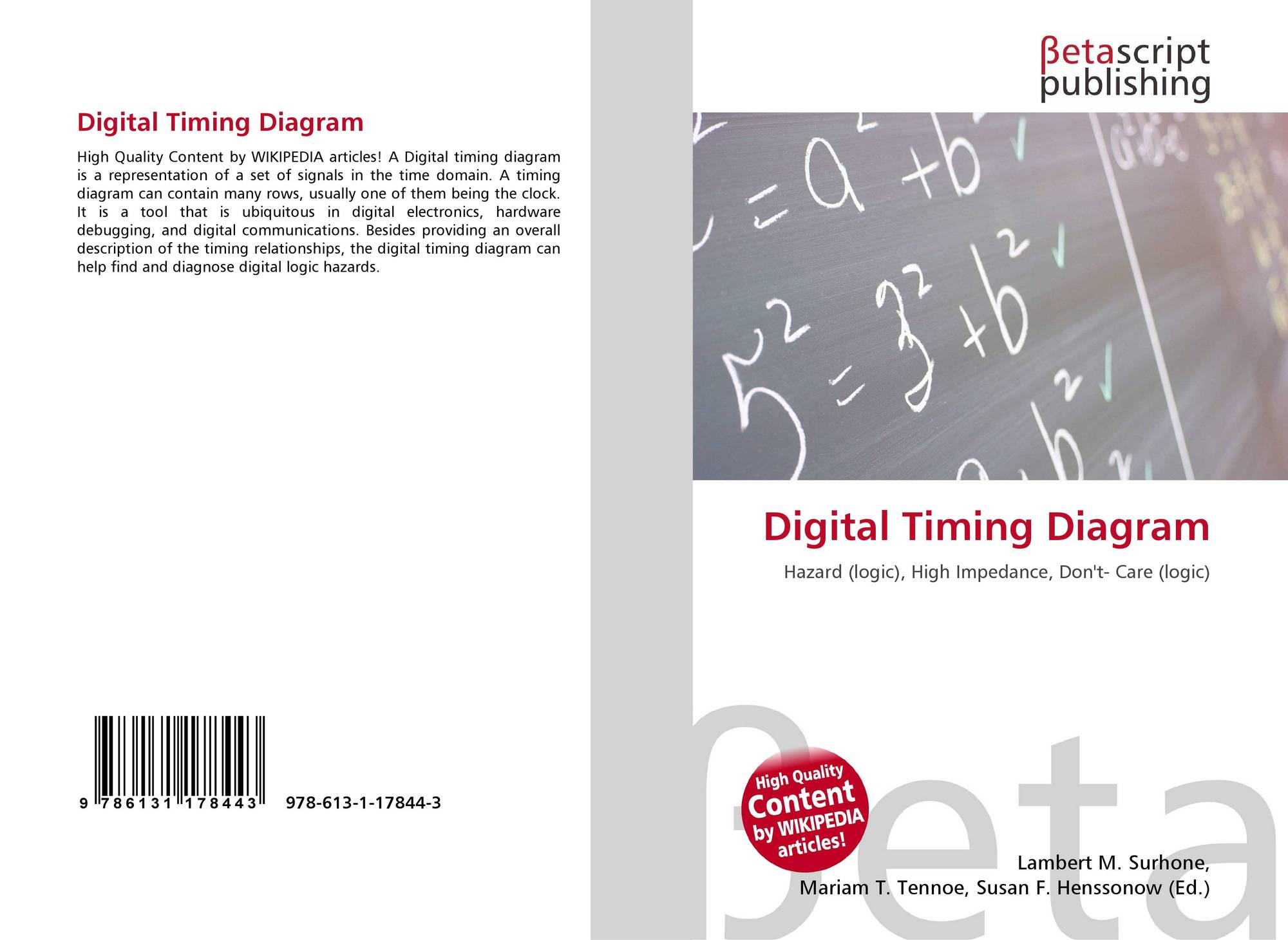 Astounding Digital Timing Diagram 978 613 1 17844 3 6131178445 9786131178443 Wiring Digital Resources Remcakbiperorg