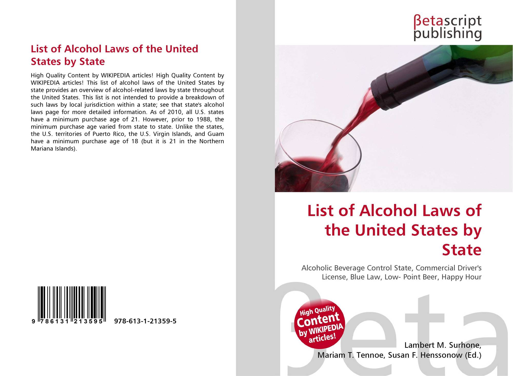 an overview of the alcohol prohibition and the age restriction in the united states